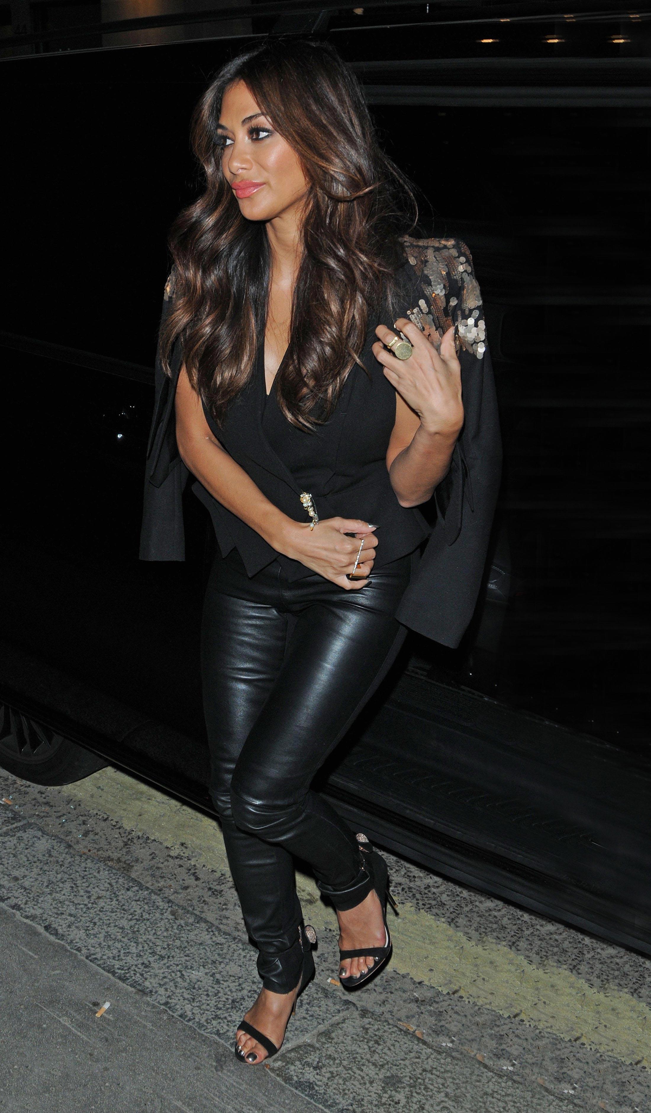 Nicole Scherzinger leaving the Wembley Arena