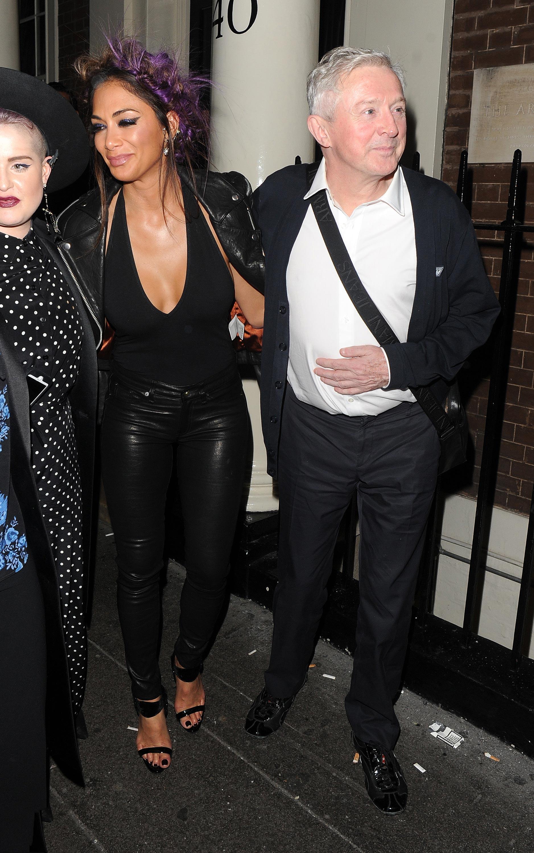 Nicole Scherzinger attends Kelly Osbourne birthday party