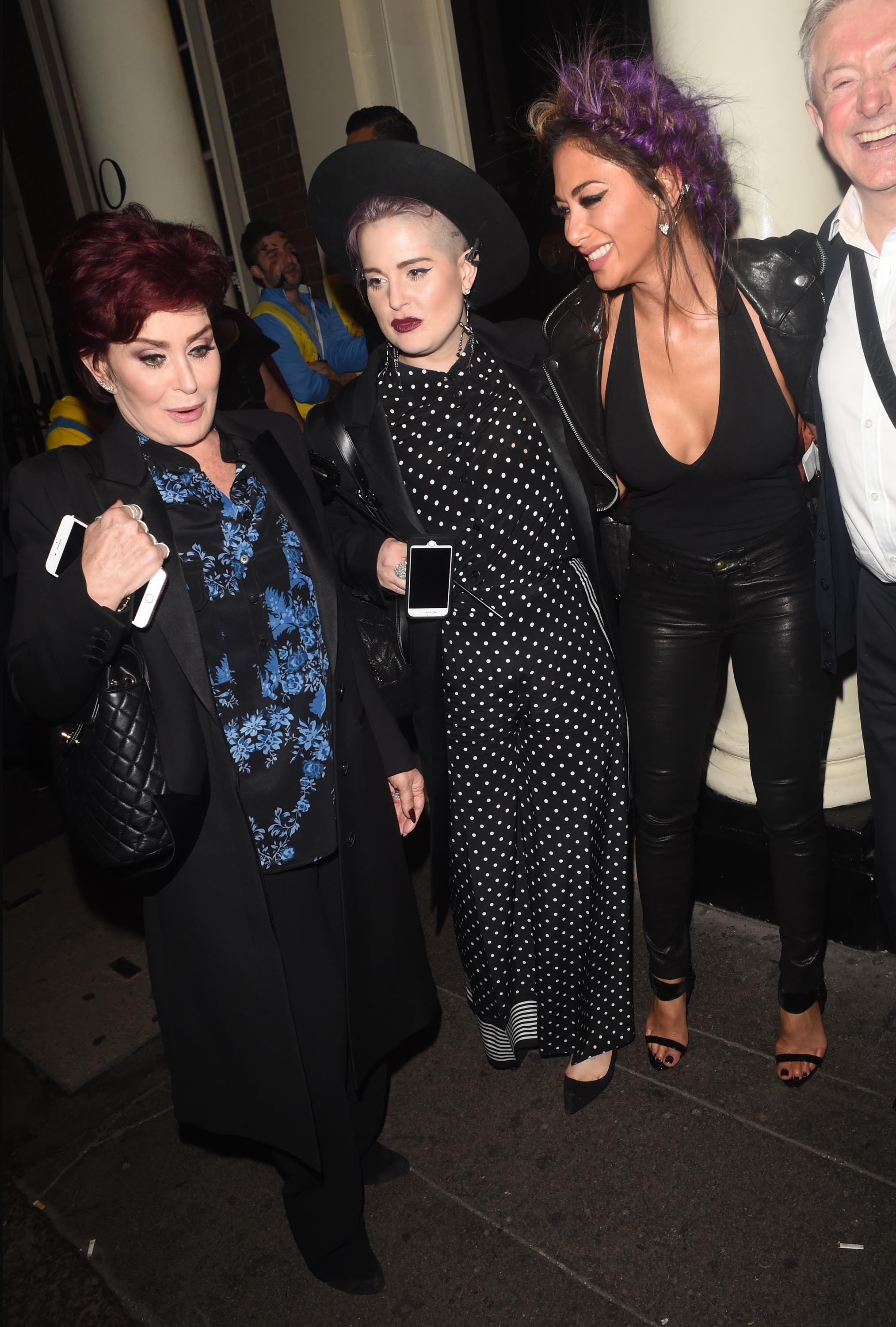 Nicole Scherzinger attends Kelly Osbourne birthday party