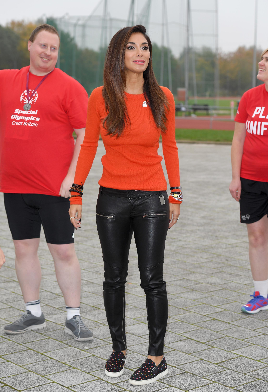 Nicole Scherzinger attends Special Olympics