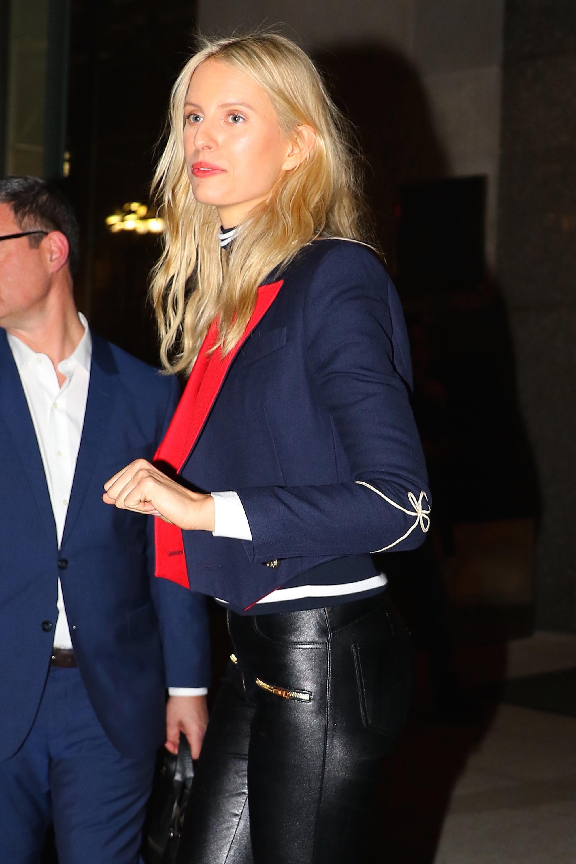 Karolina Kurkova attends Tommy Hilfiger event at The Edition Hotel