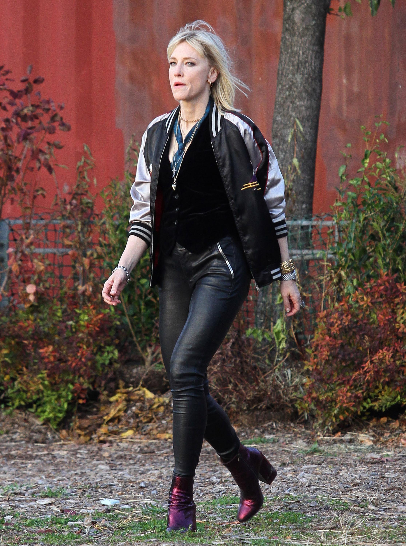 Cate Blanchett Ocean S  Filming