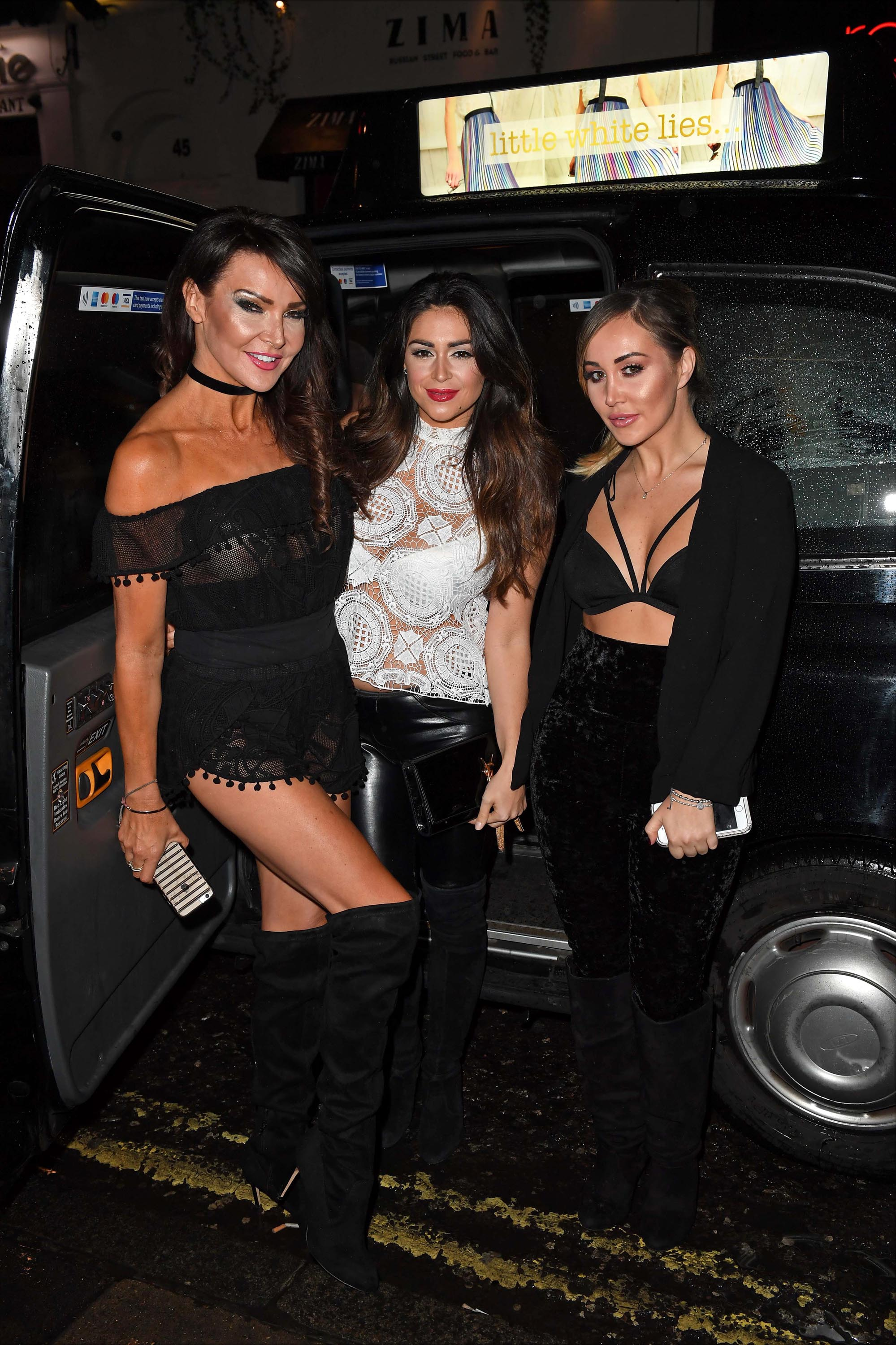 Casey Batchelor attends Little White Lies SS17 Fashion Collection Preview