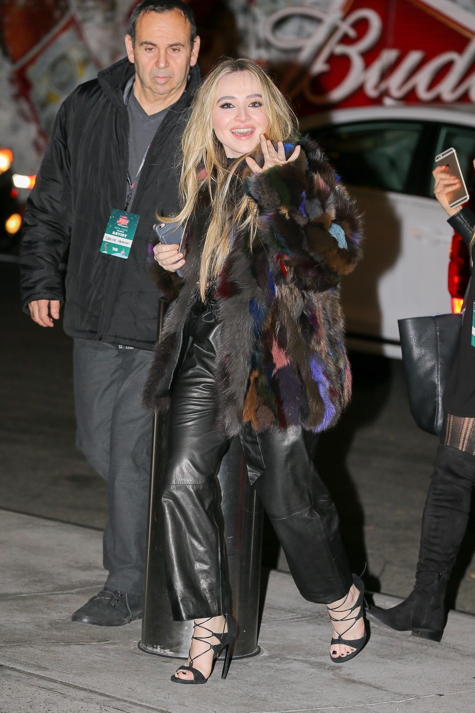 Sabrina Carpenter attends Z100s iHeartRadio Jingle Ball
