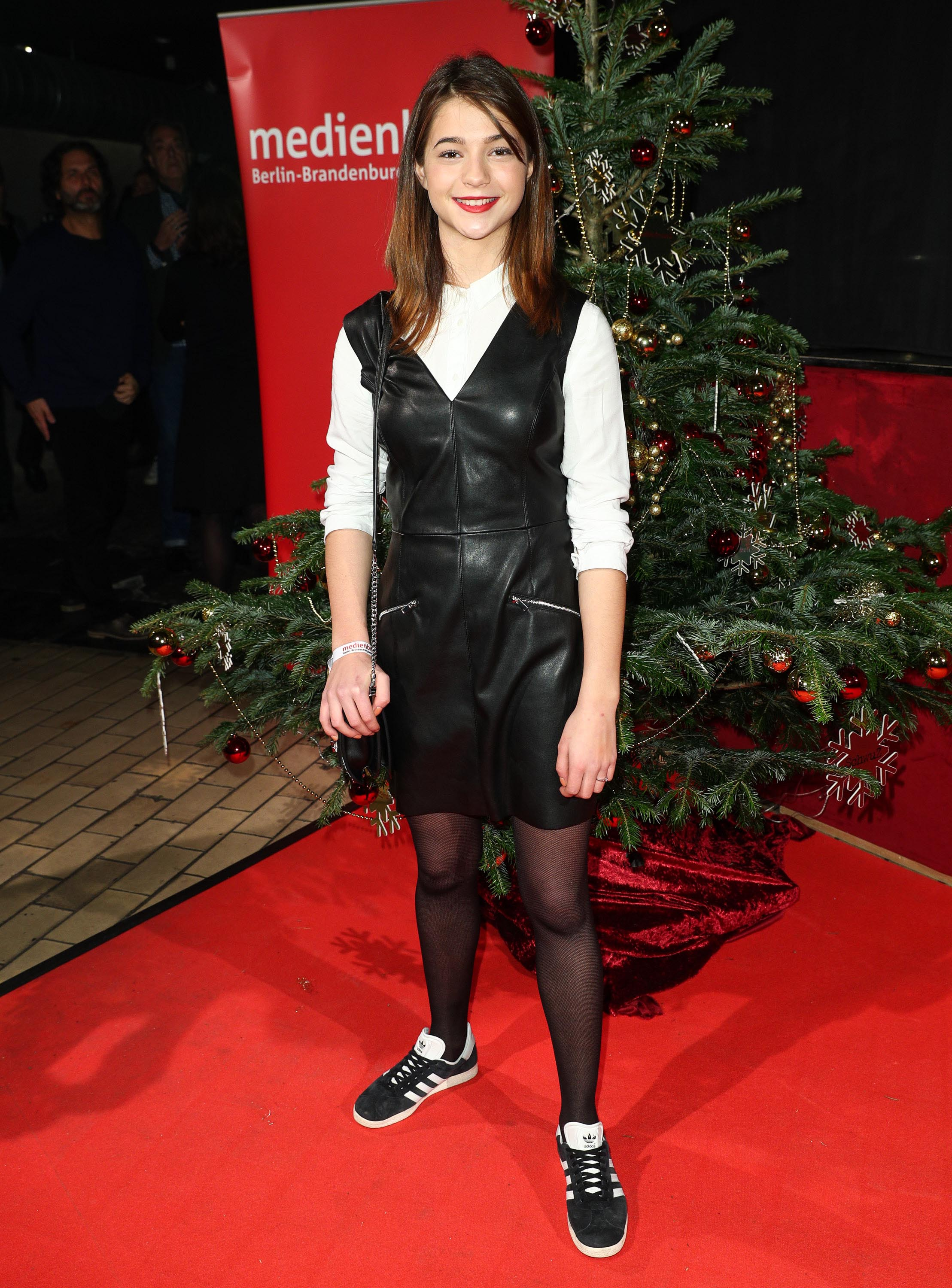 Lisa-Marie Koroll attends the Medienboard Pre-Christmas Party
