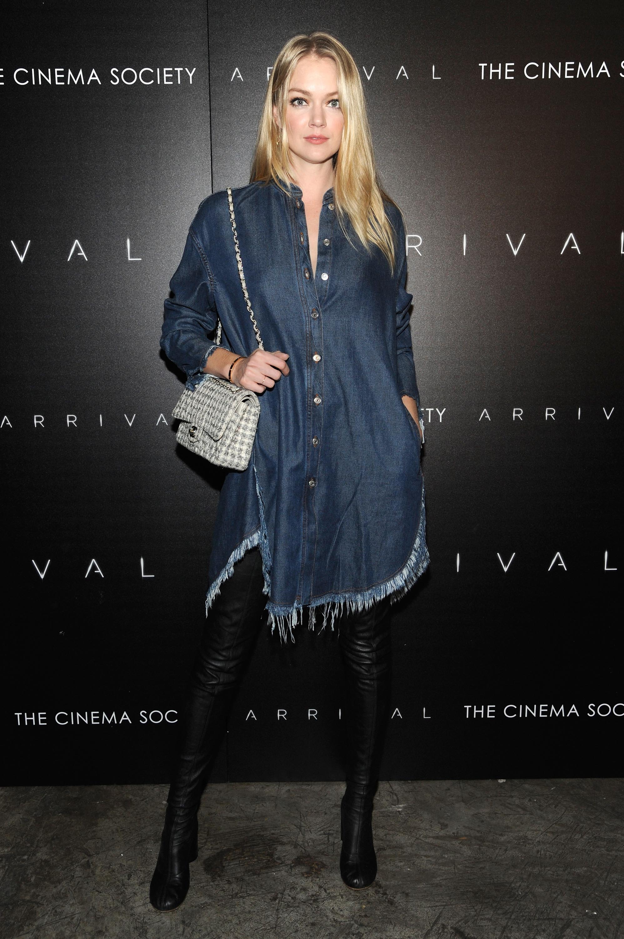 Lindsay Ellingson attends the screening of Paramount Pictures