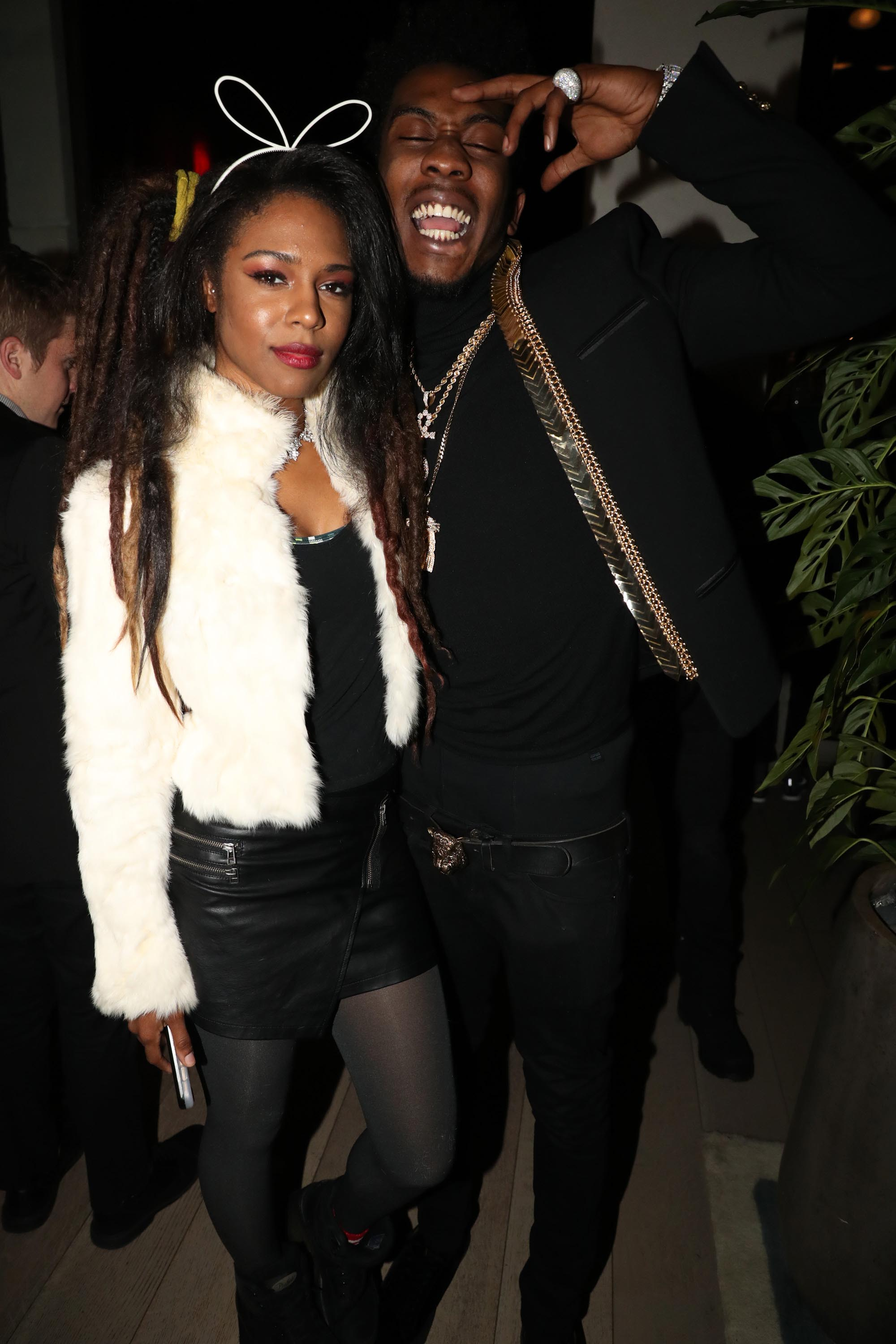 Troi Irons attends The 2016 Def Jam Holiday Party