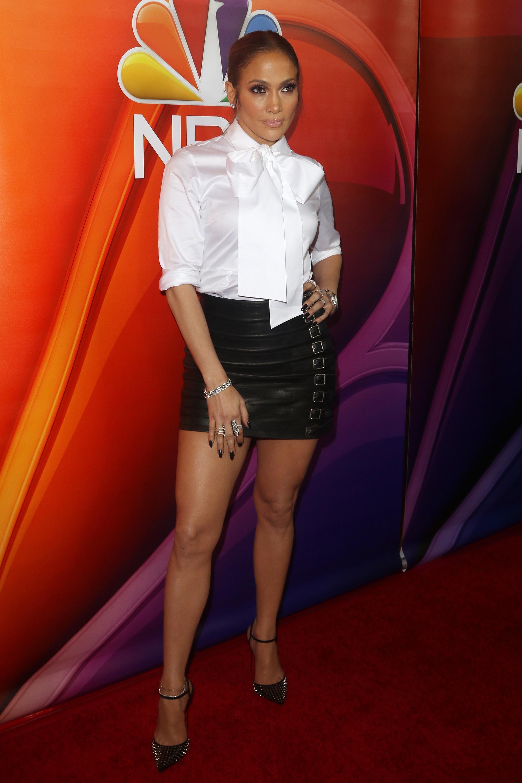 Jennifer Lopez attends NBCUniversal Winter Press Tour