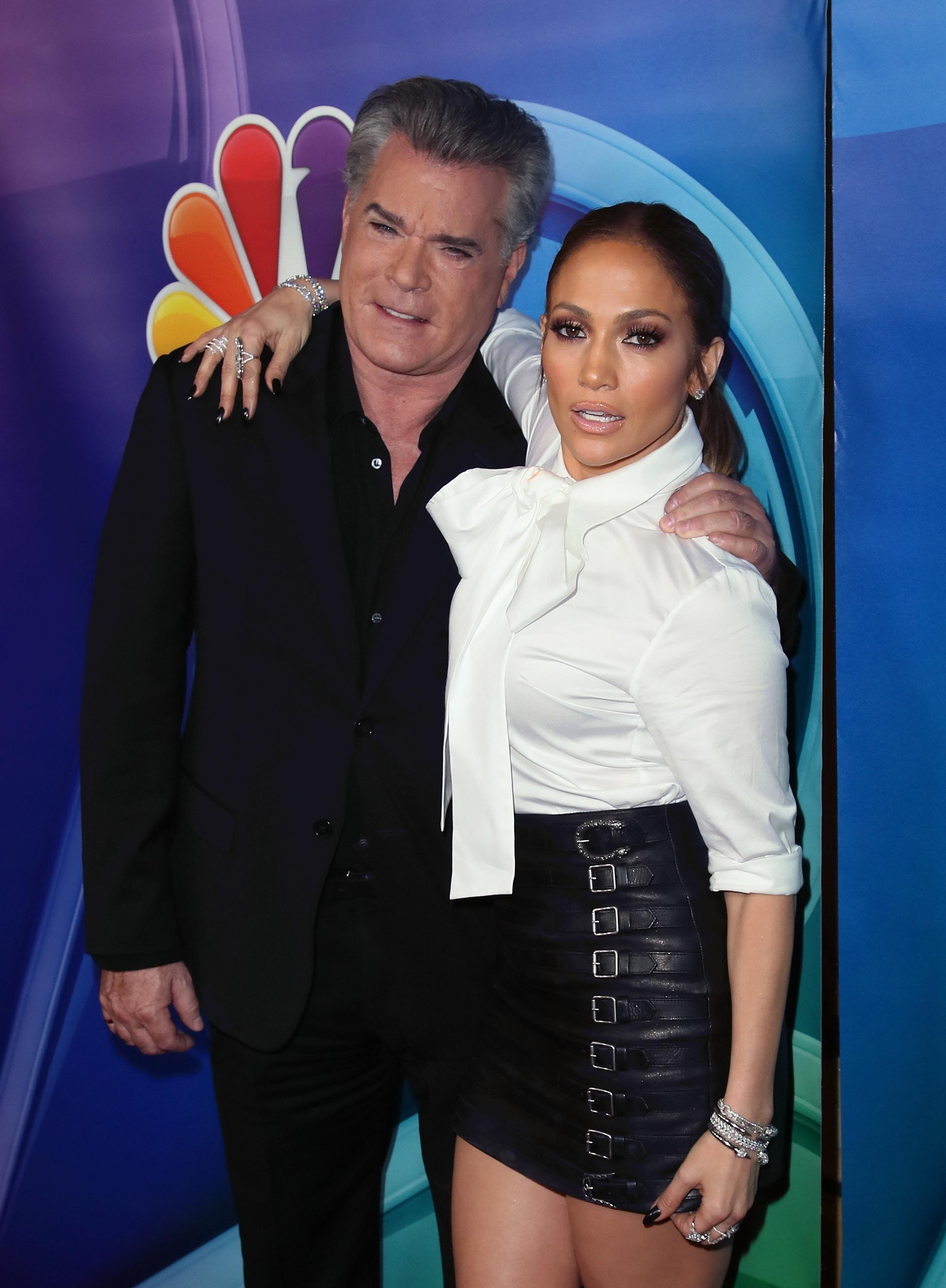 Jennifer Lopez attends NBCUniversal Winter Press Tour