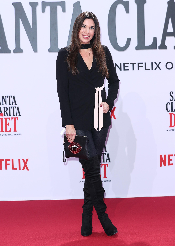 Alexandra Polzin arrives at the premiere of Netflix's Santa Clarita Diet
