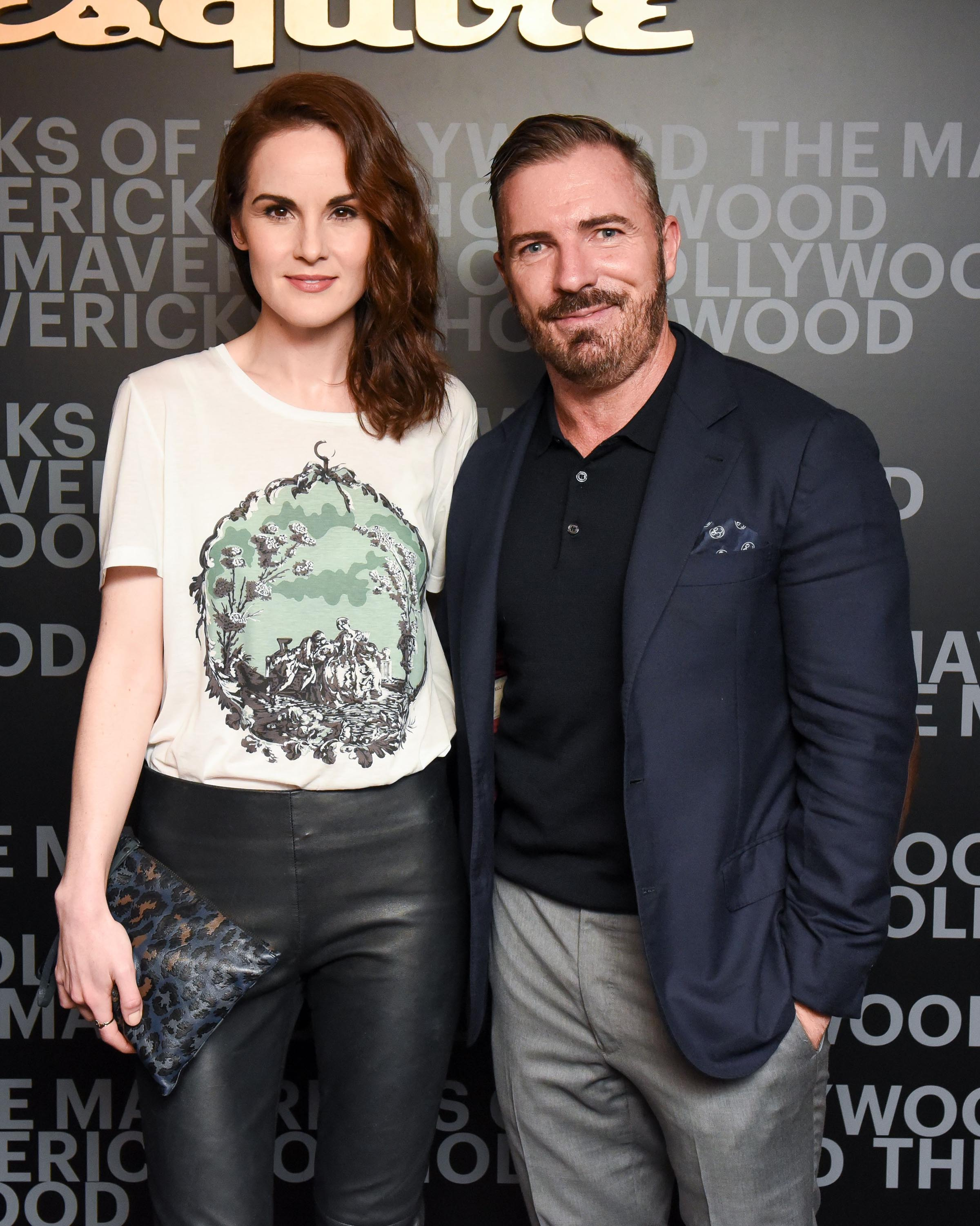 Michelle Dockery attends Esquire celebration of March cover star James Corden