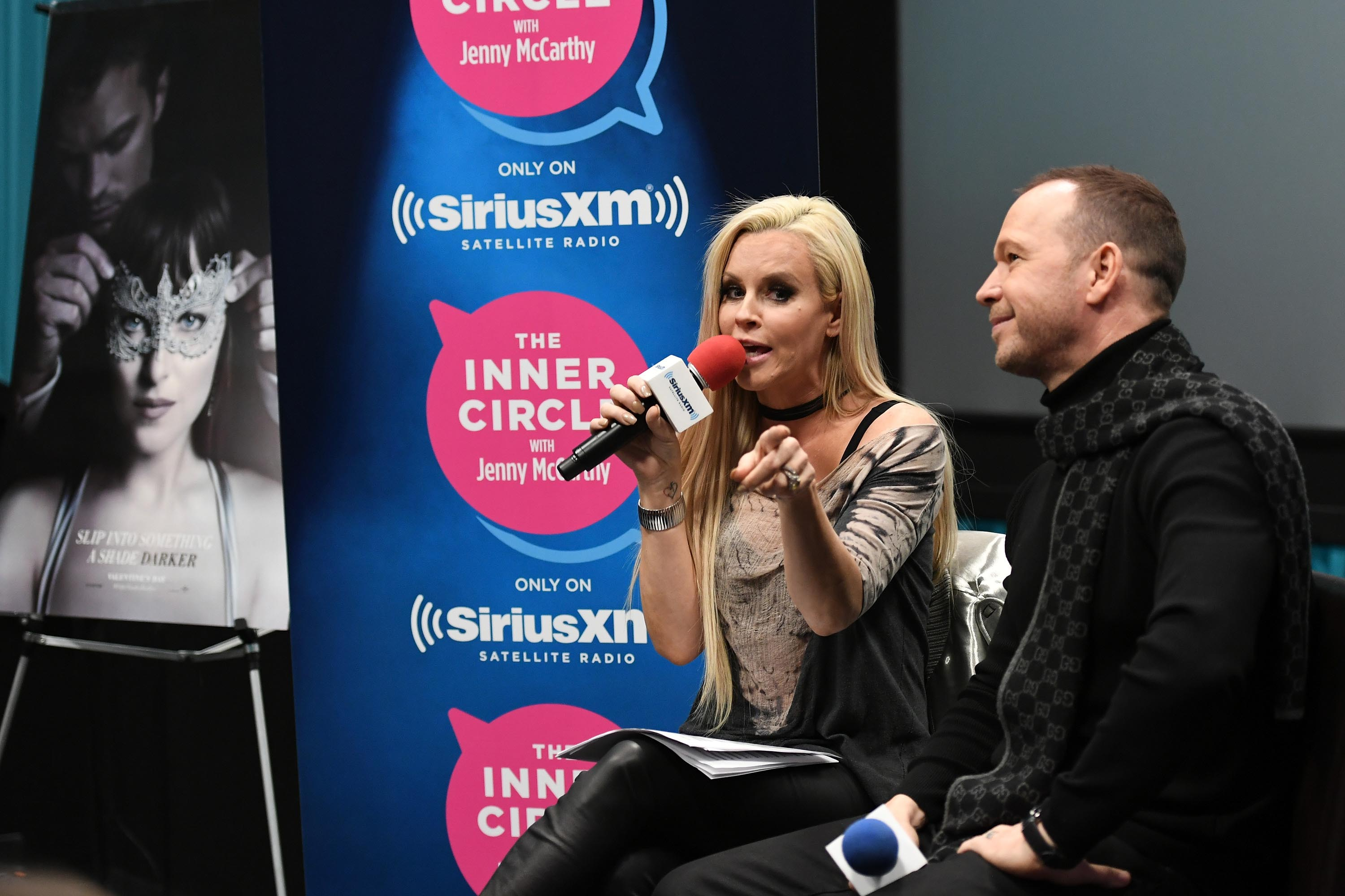 Jenny McCarthy attends a special edition Of The Jenny McCarthy Show