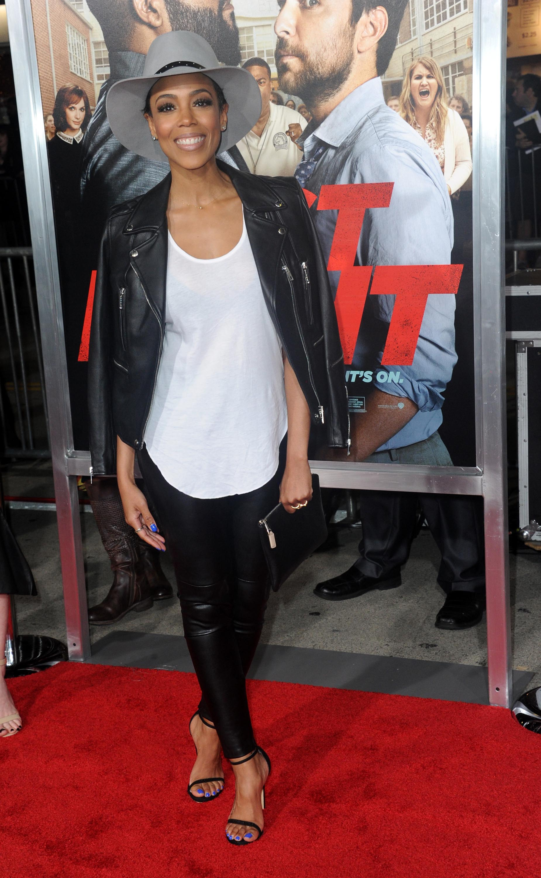Jazmyn Simon attends premiere of Warner Bros. Pictures' 'Fist Fight'