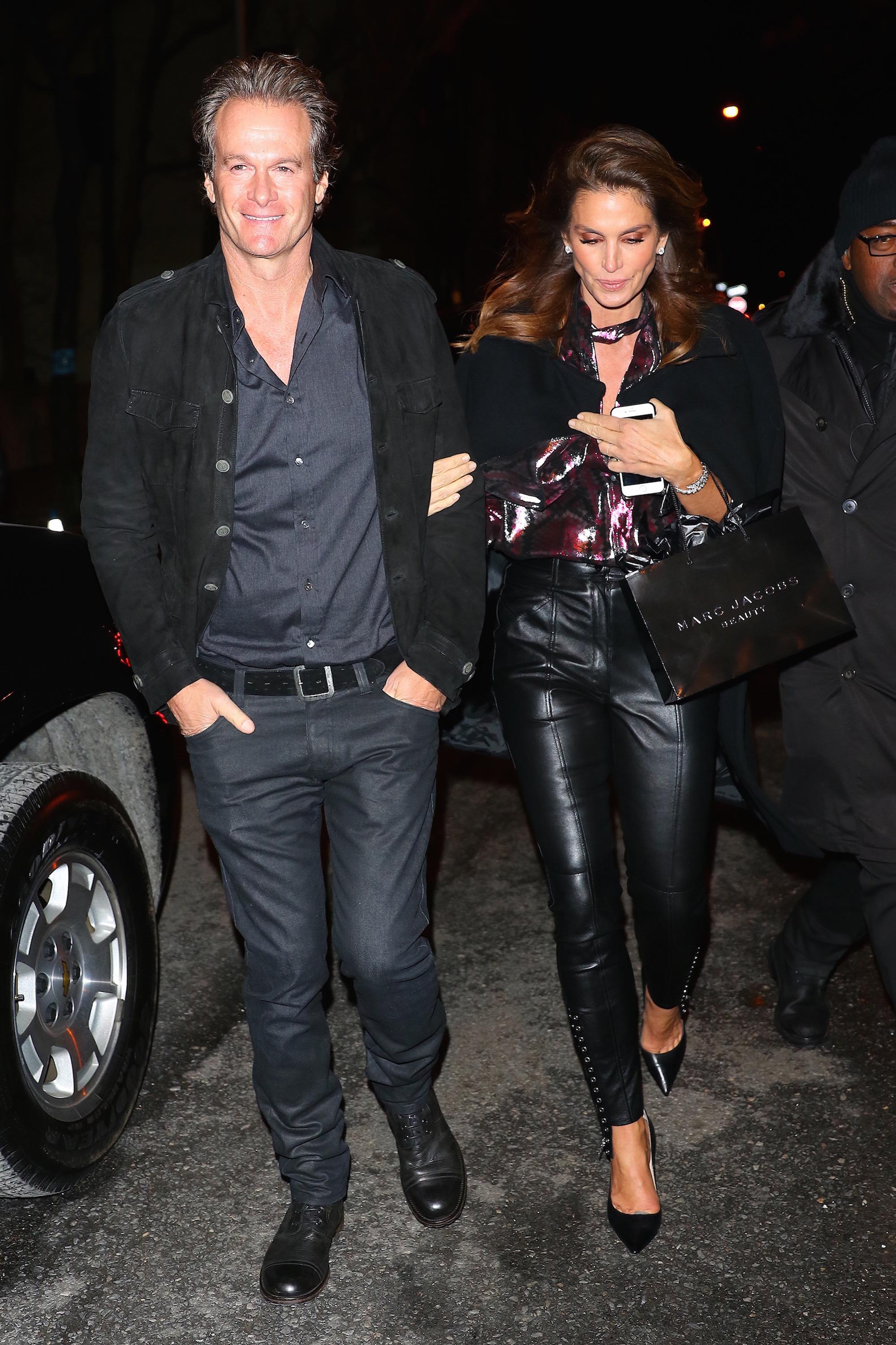 Cindy Crawford seen at the Marc Jacobs private party