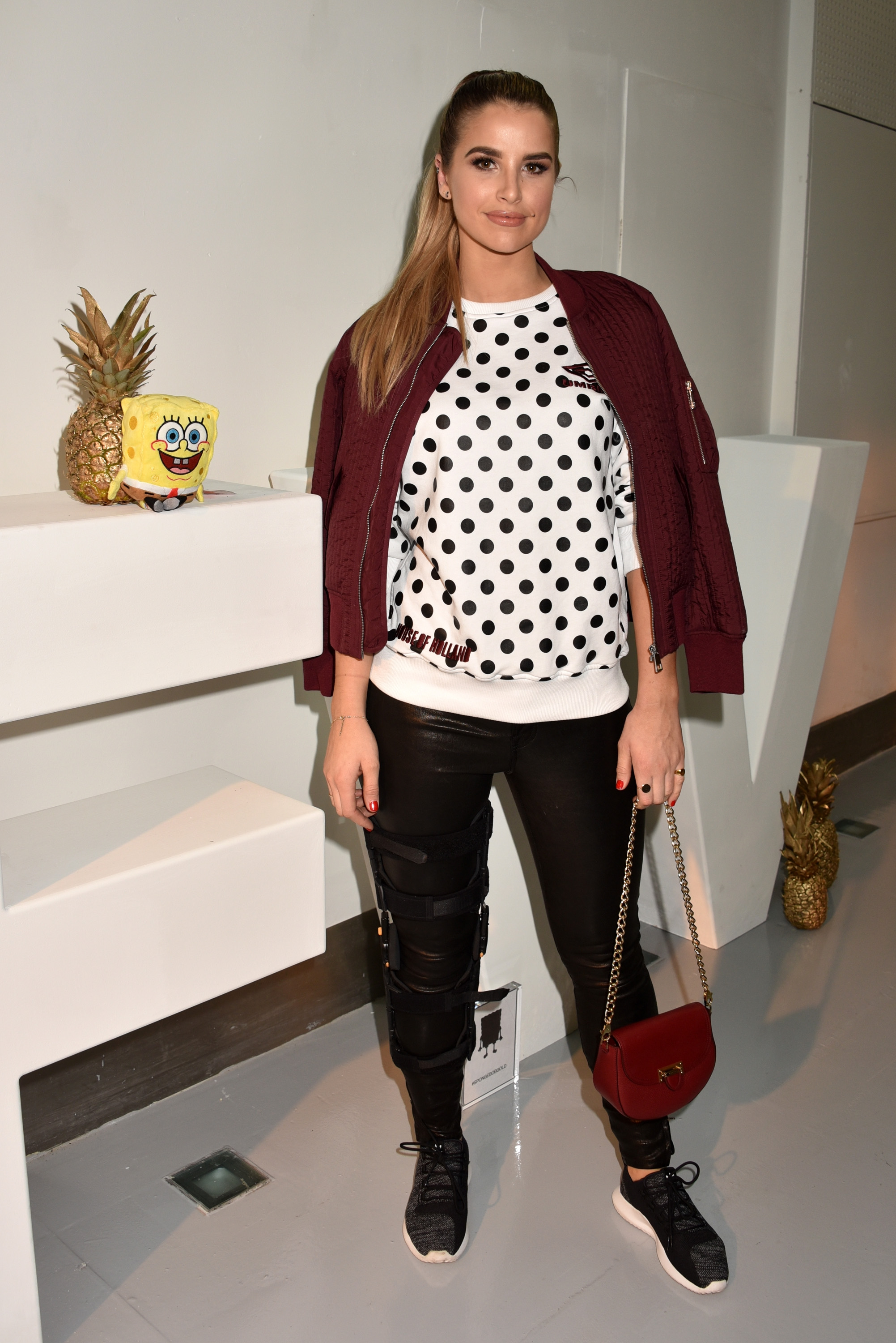 Vogue Williams attends Sponge Bob Gold