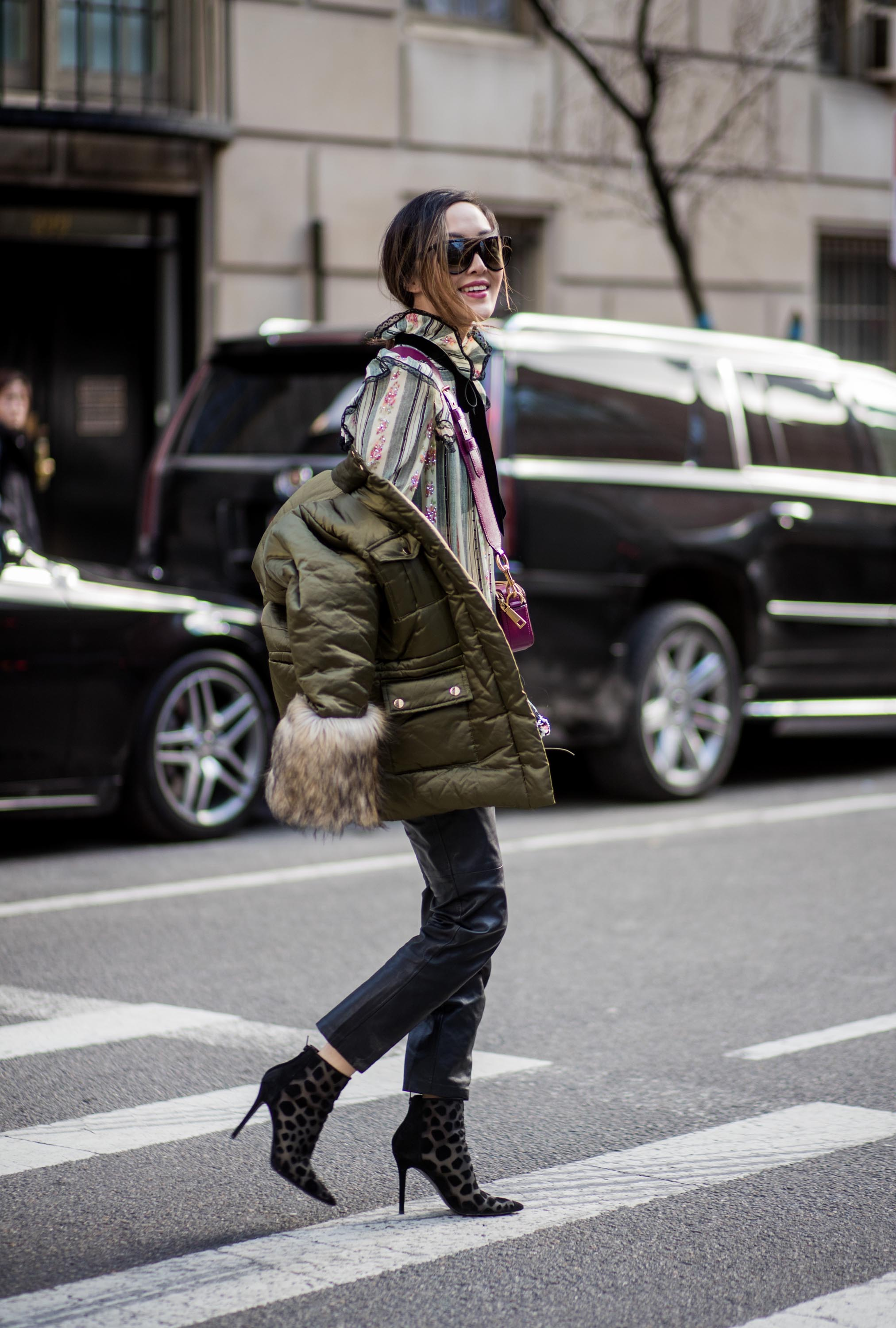 Chriselle Lim is seen attending MARC JACOBS