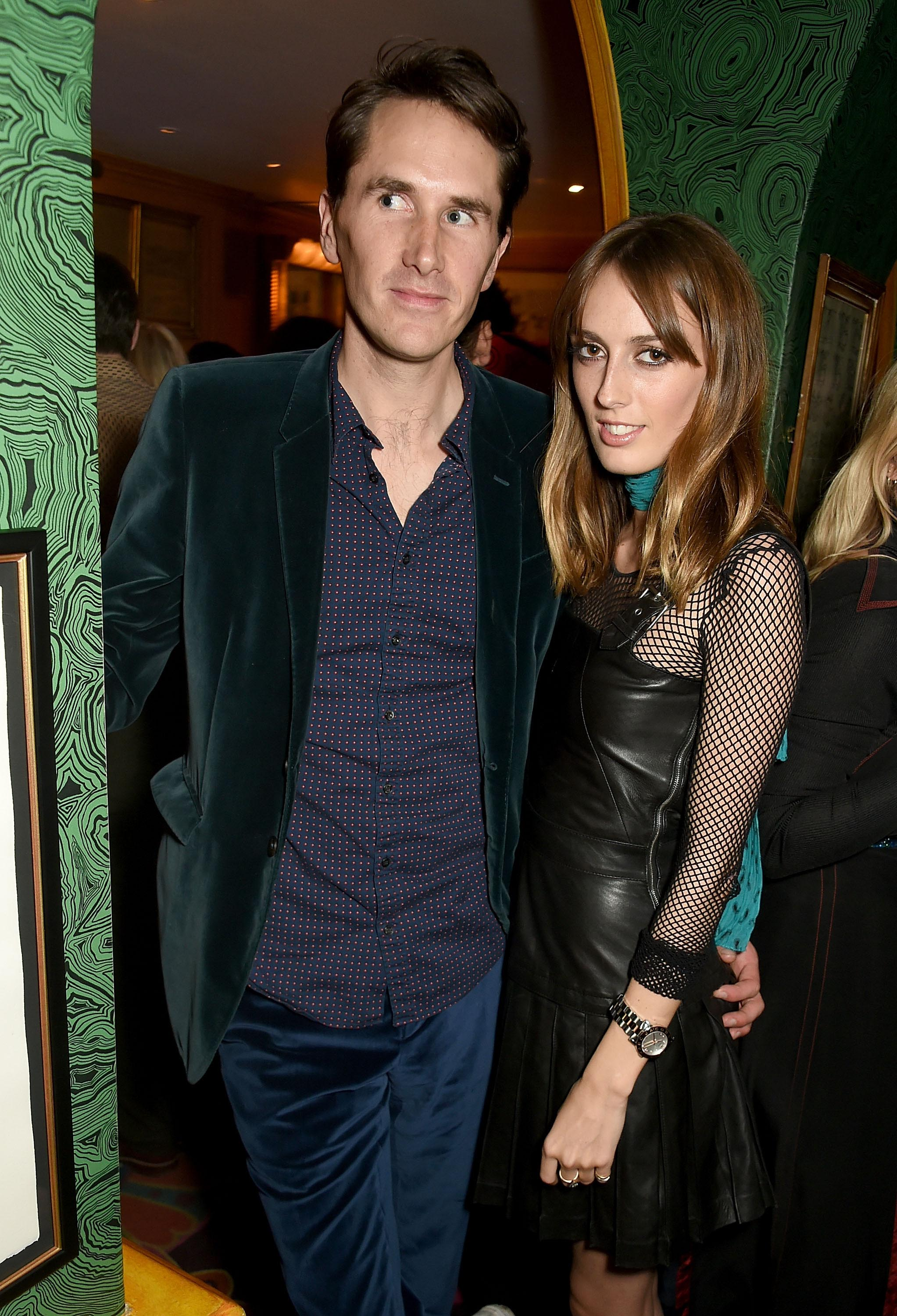 Lady Alice Manners at the LOVE and Burberry London Fashion Week Party