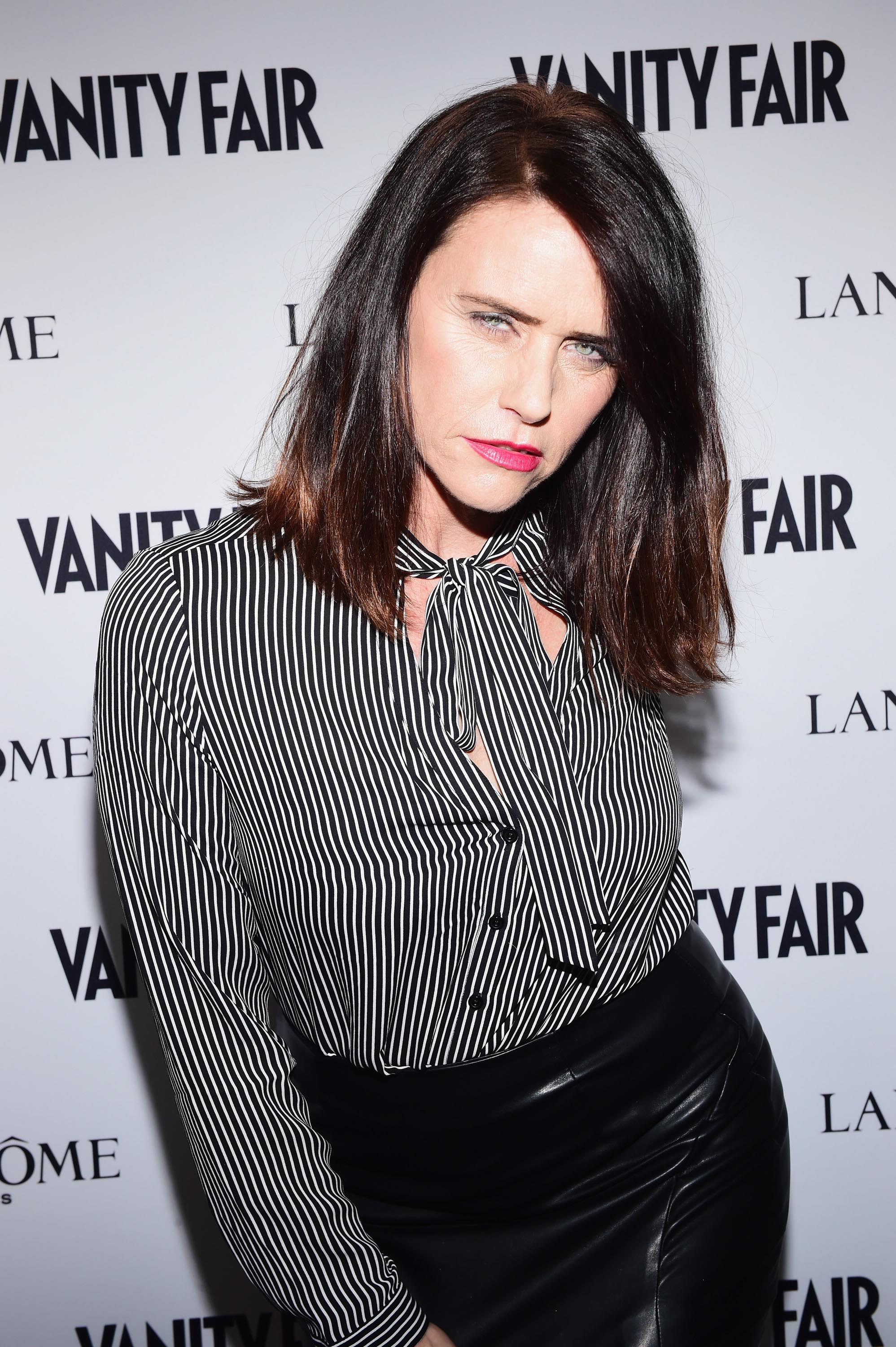 Amy Landecker attends Vanity Fair and Lancome Toast to The Hollywood Issue