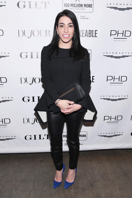 Jennifer Connelly of JConnelly attends Tony Robbins' Birthday celebration