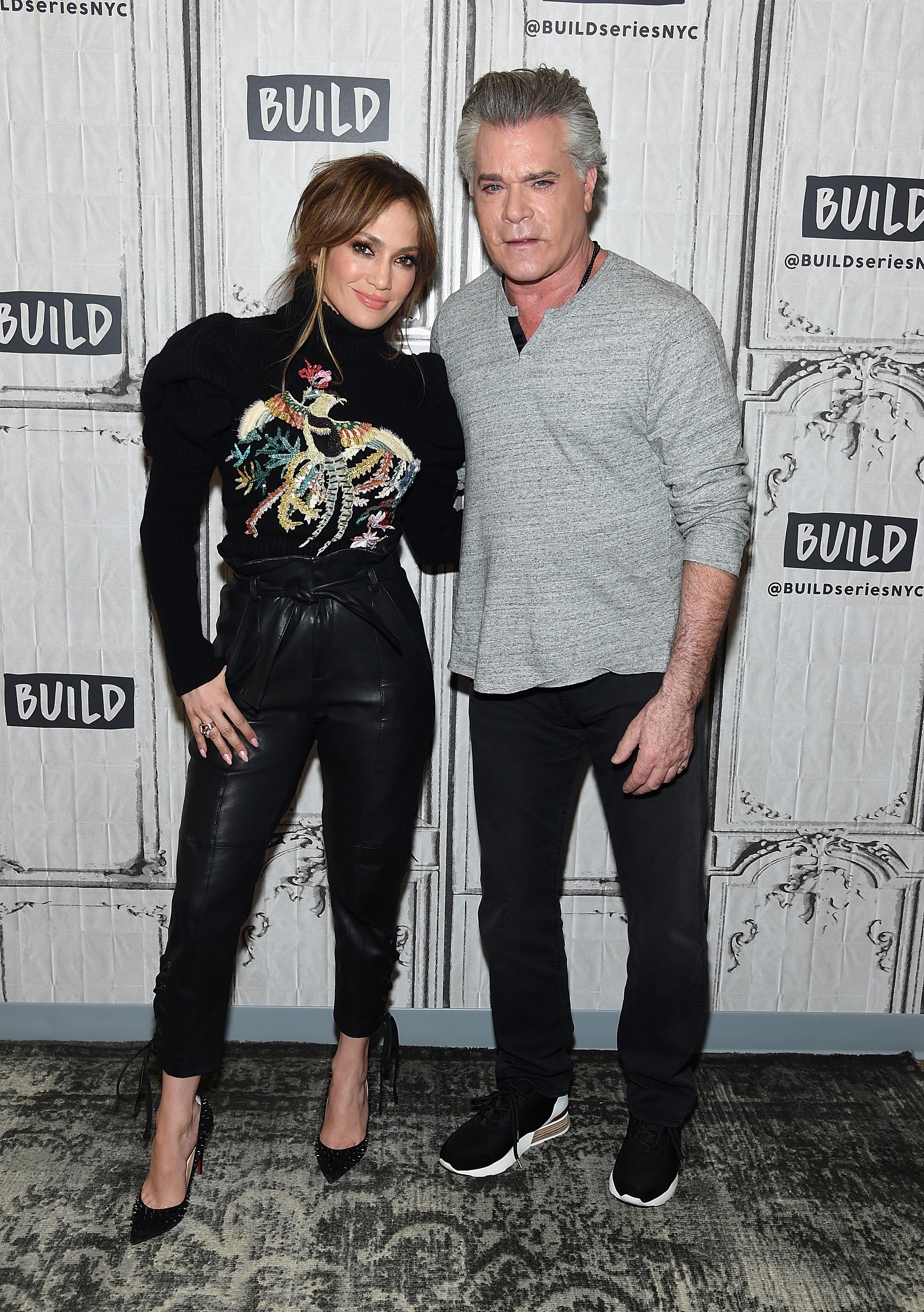 Jennifer Lopez visits the Build Series Discussing 'Shades Of Blue'