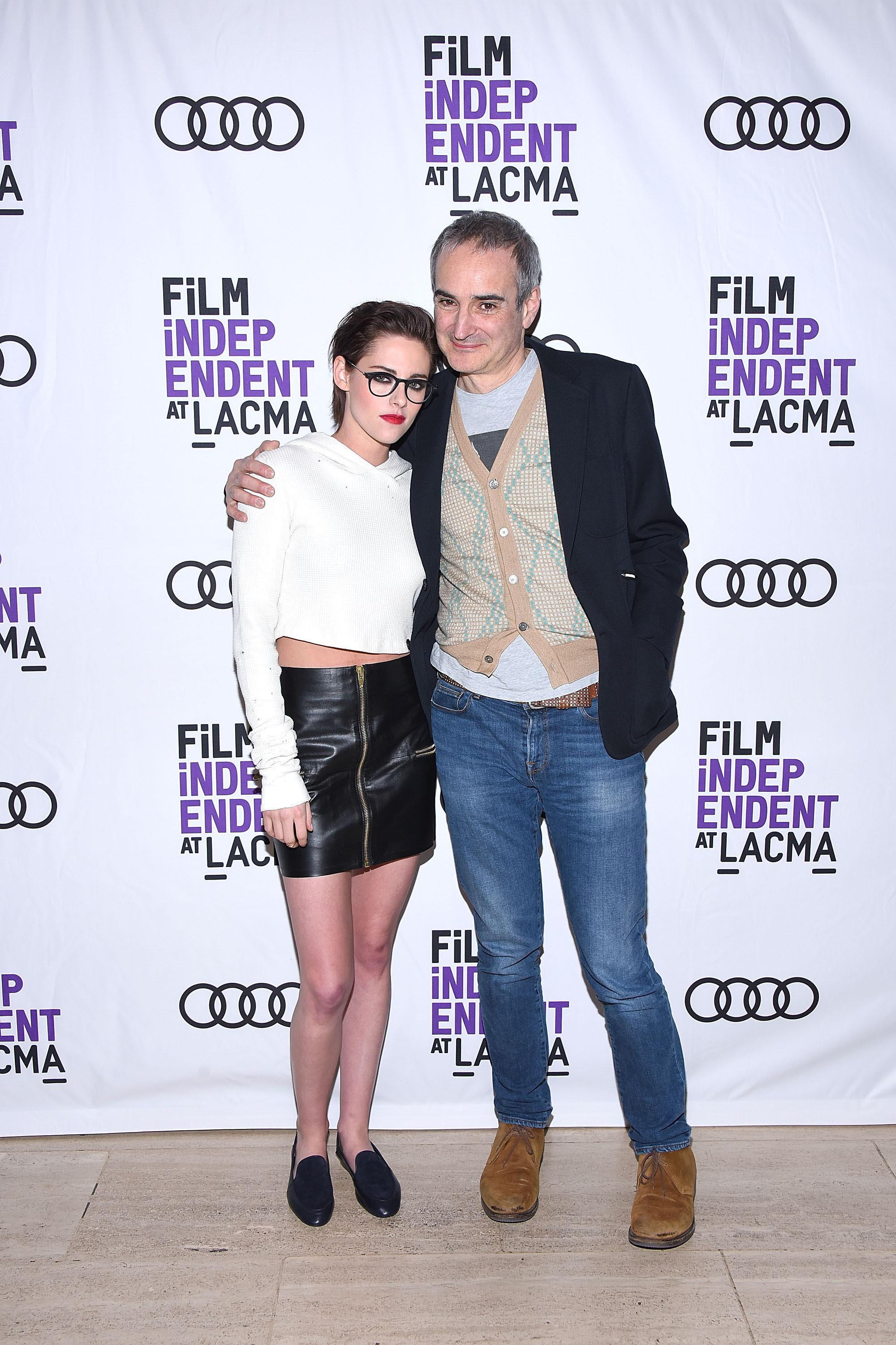Kristen Stewart attends the Film Independent at LACMA screening