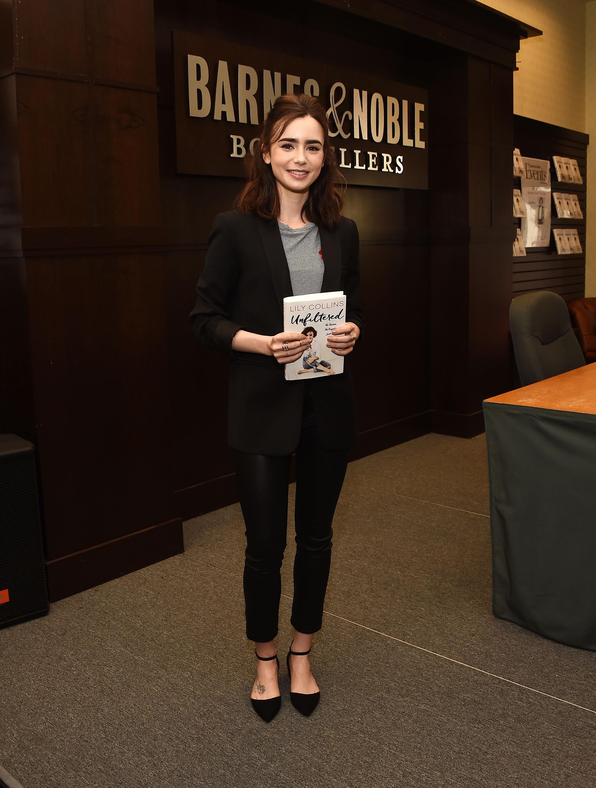 lily collins unfiltered pdf download