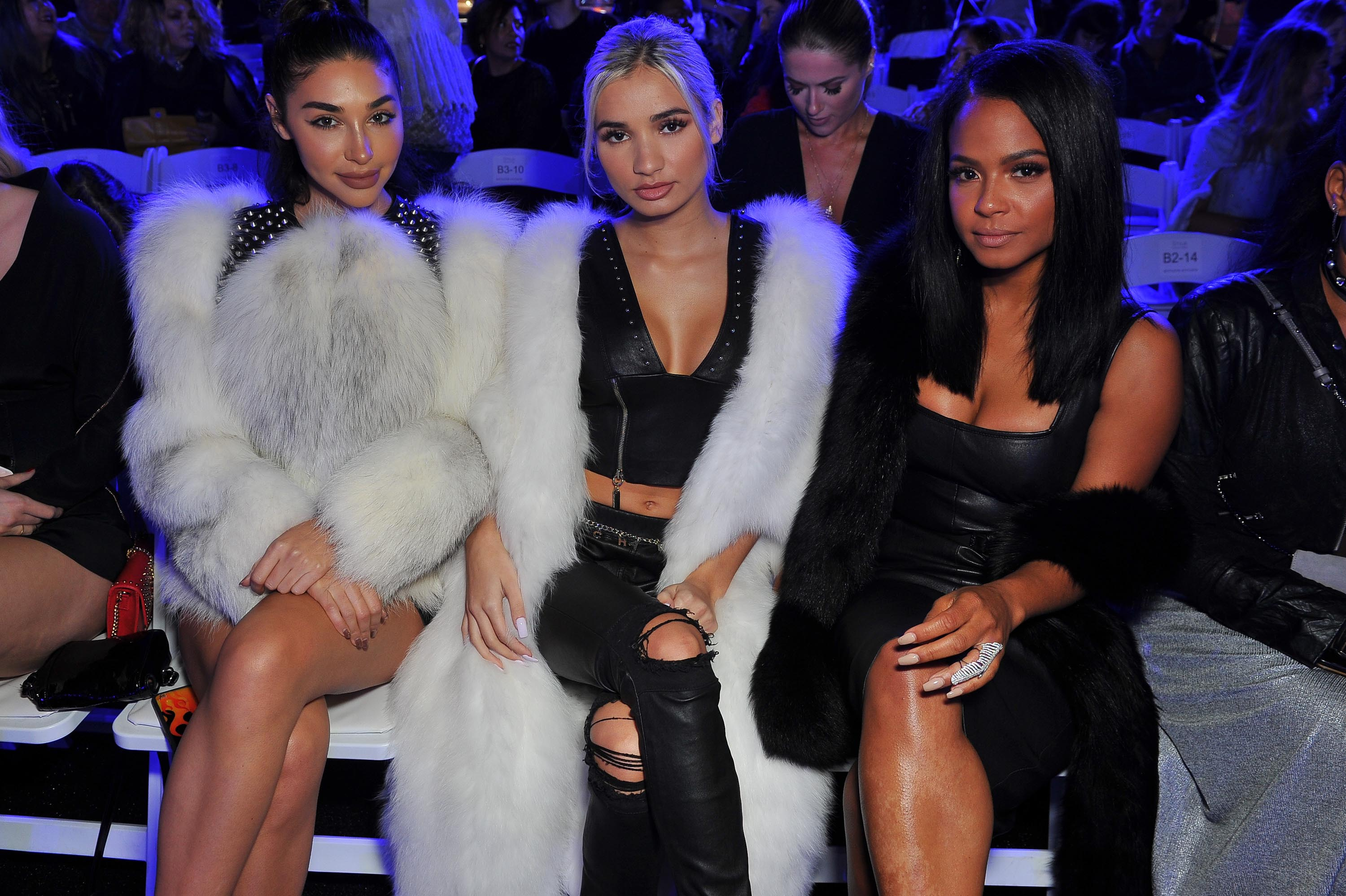 Pia Mia attends the debut of Thomas Wylde's 'Warrior II' collection