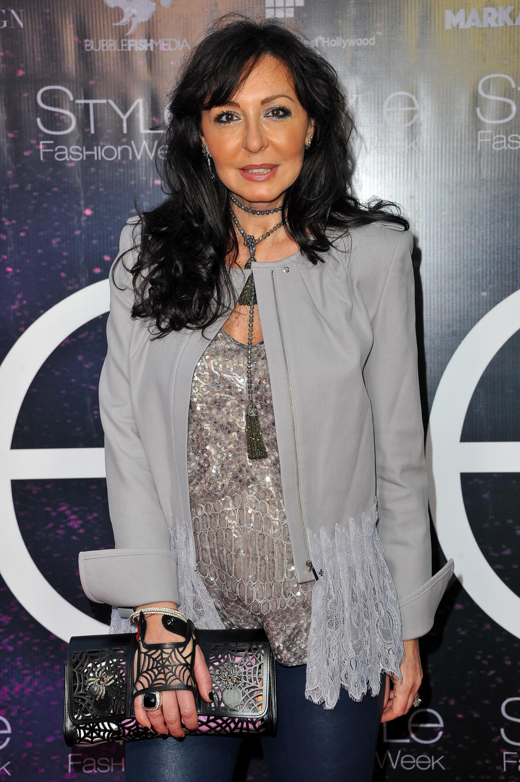 Galina Sobolev attends the debut of Thomas Wylde's 'Warrior II' collection