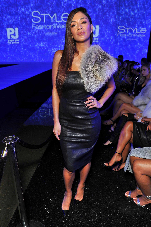 Nicole Scherzinger attends the debut of Thomas Wylde's 'Warrior II' collection