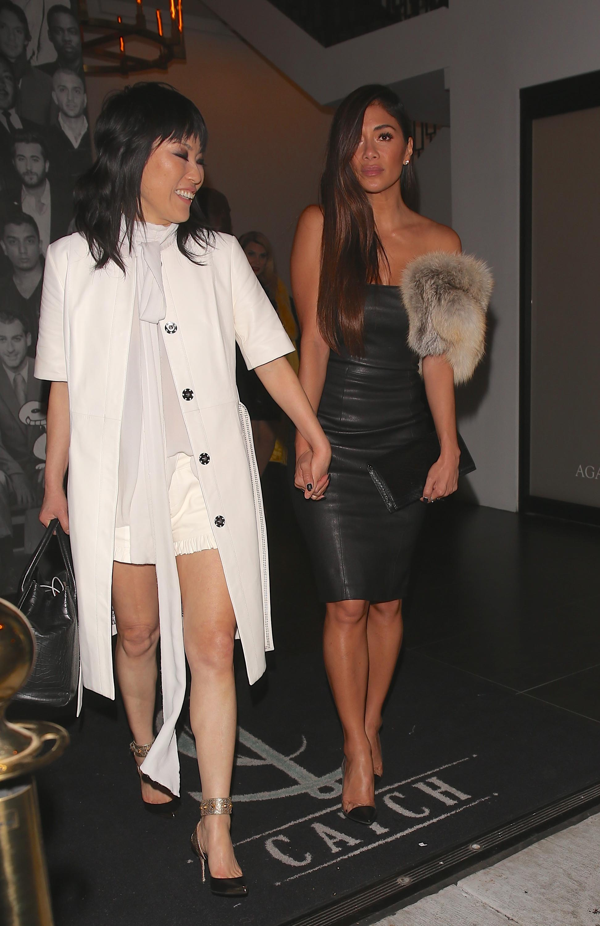 Nicole Scherzinger attends the debut of Thomas Wylde's 'Warrior II' collection