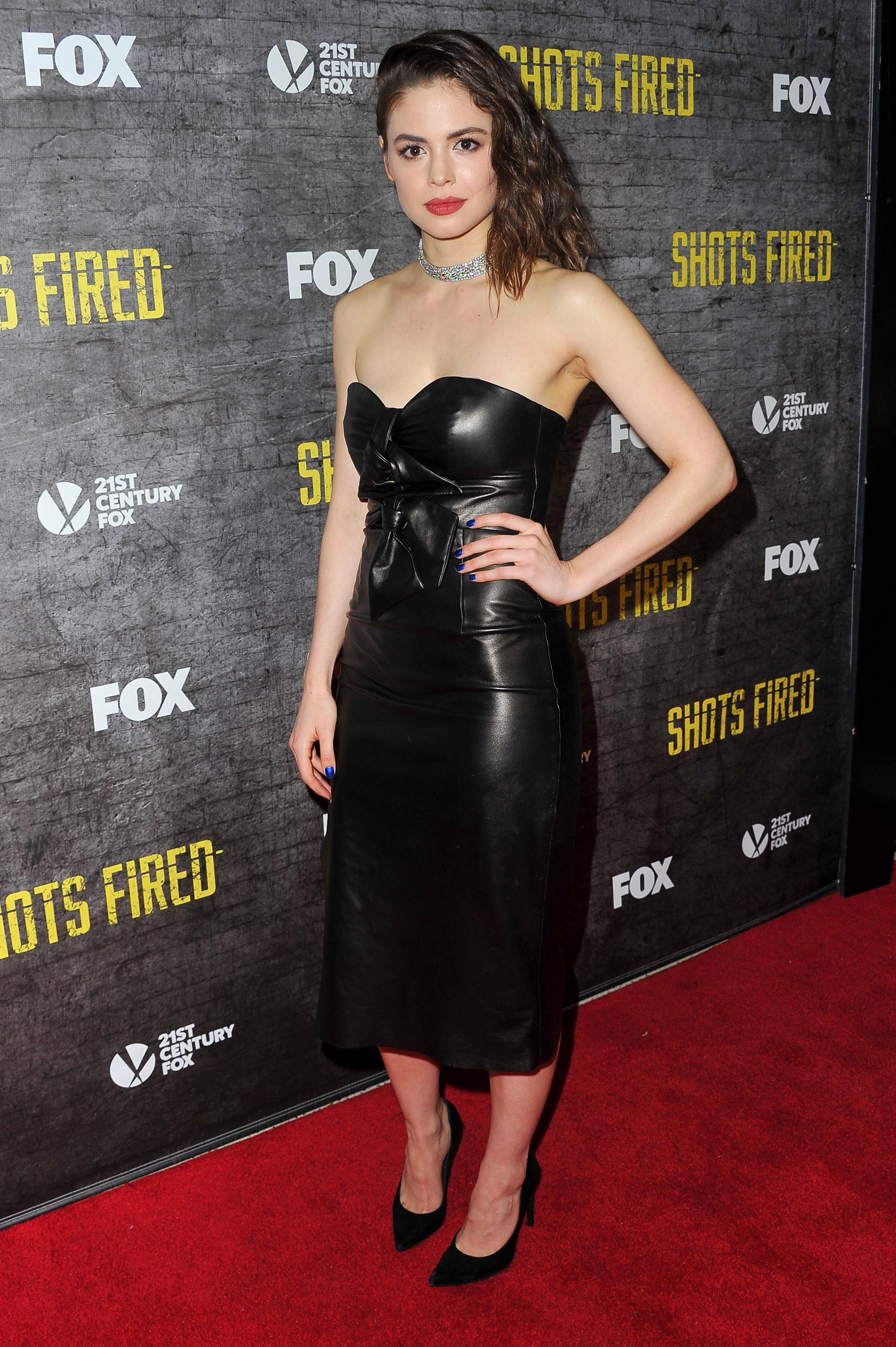 Conor Leslie attends a screening and discussion of FOX's 'Shots Fired'