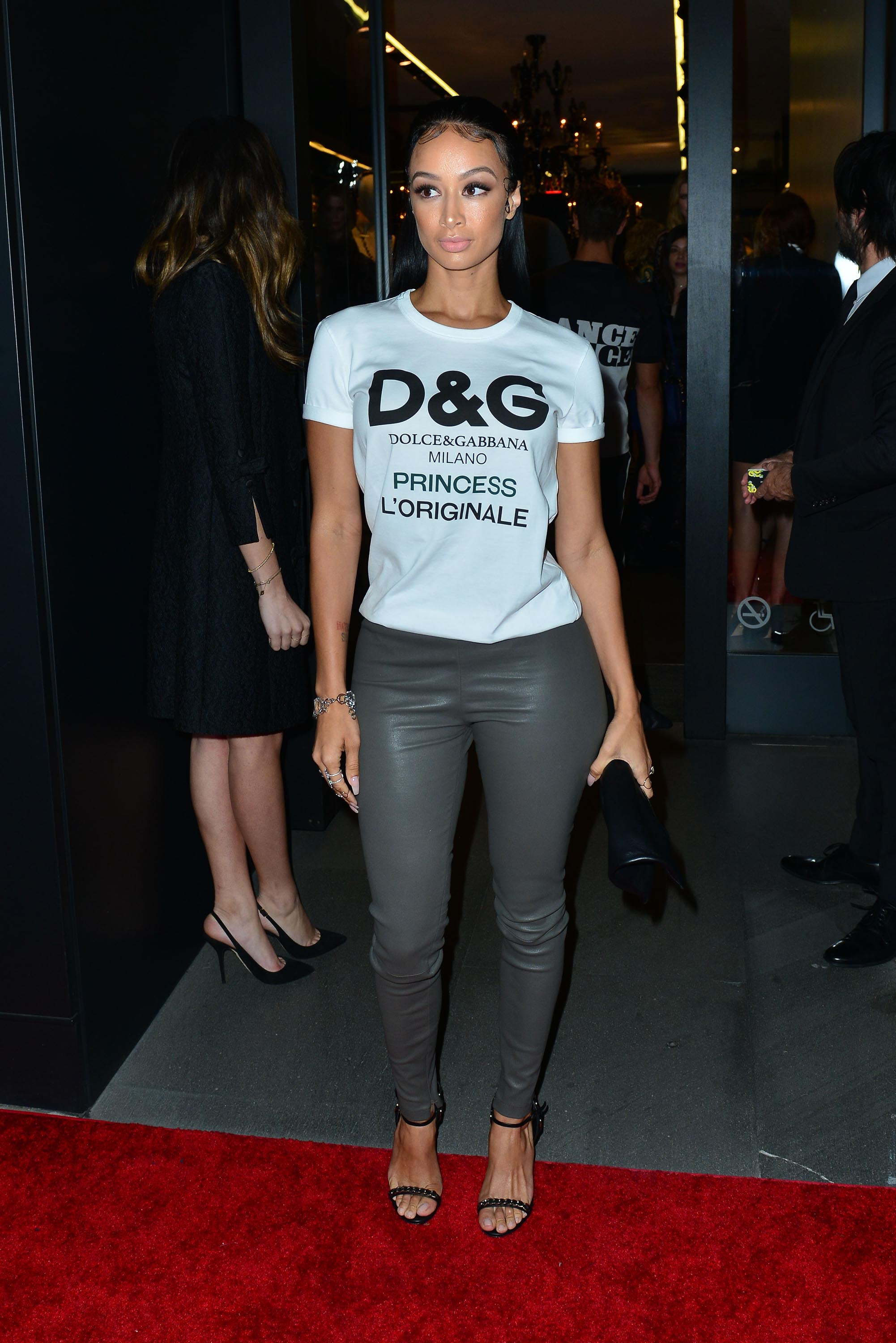 Draya Michele attends the Dolce & Gabbana New Vision and Millennials party