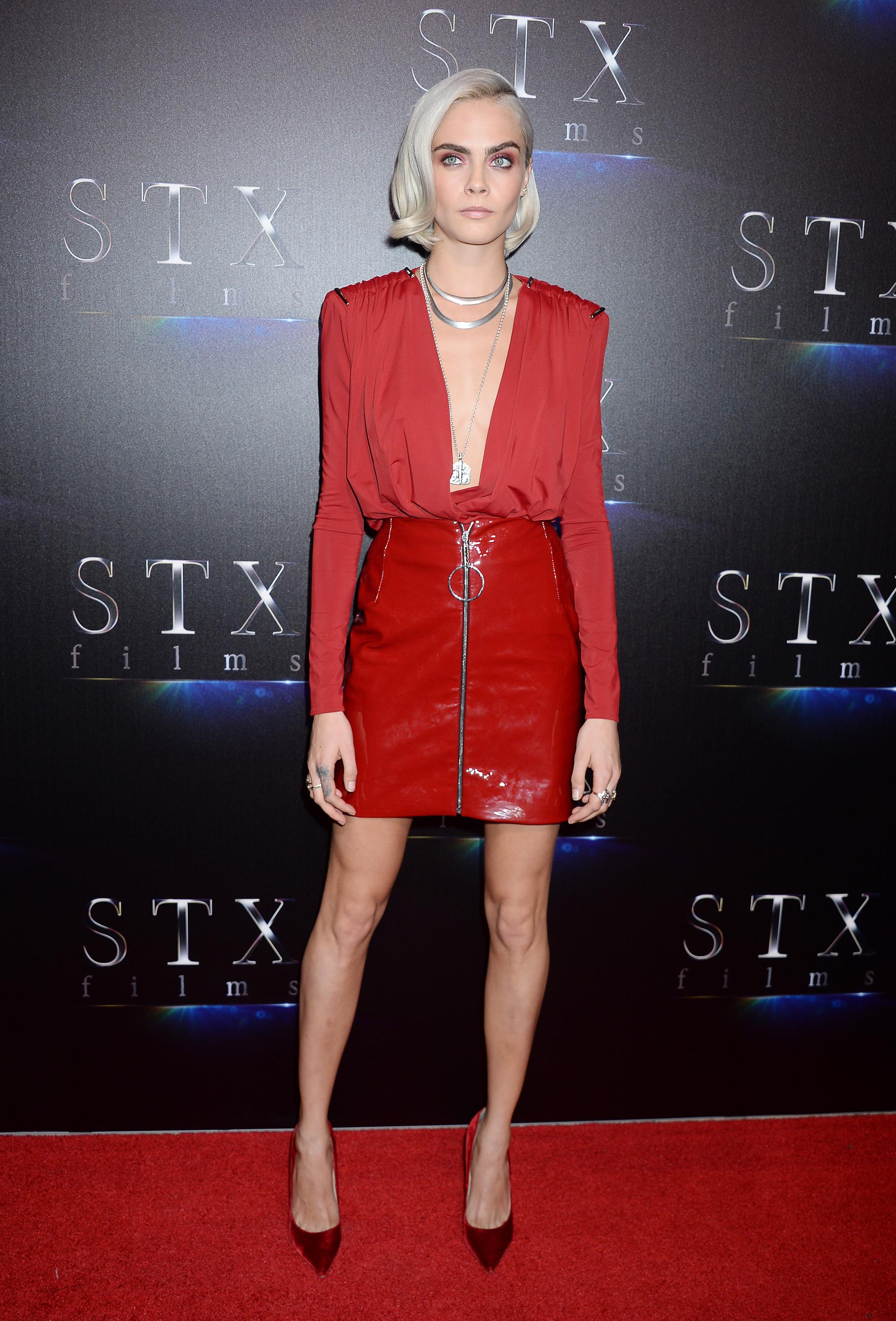 Cara Delevingne attends The State of the Industry presentation