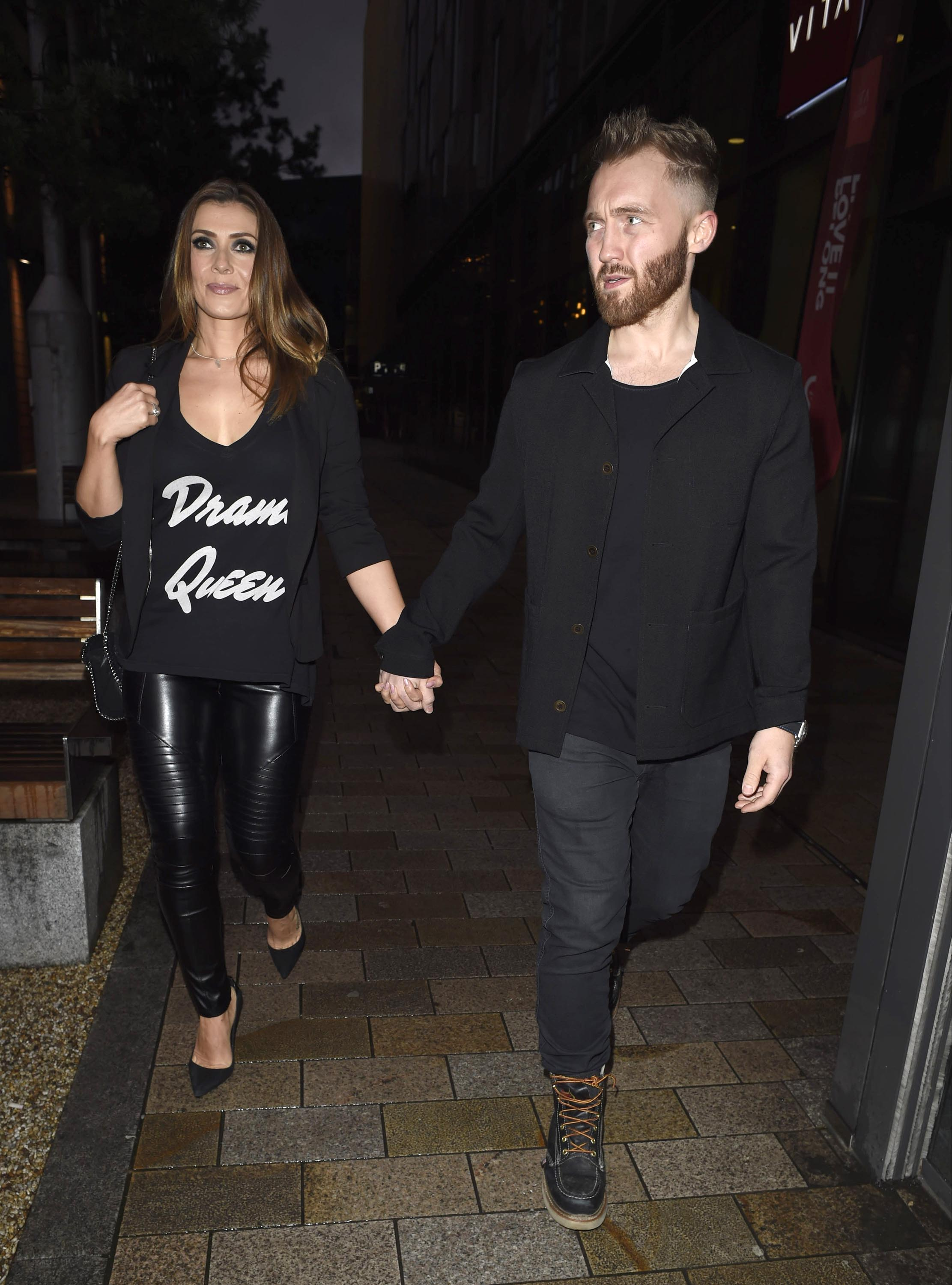 Kym Marsh at Laundrette Restaurant