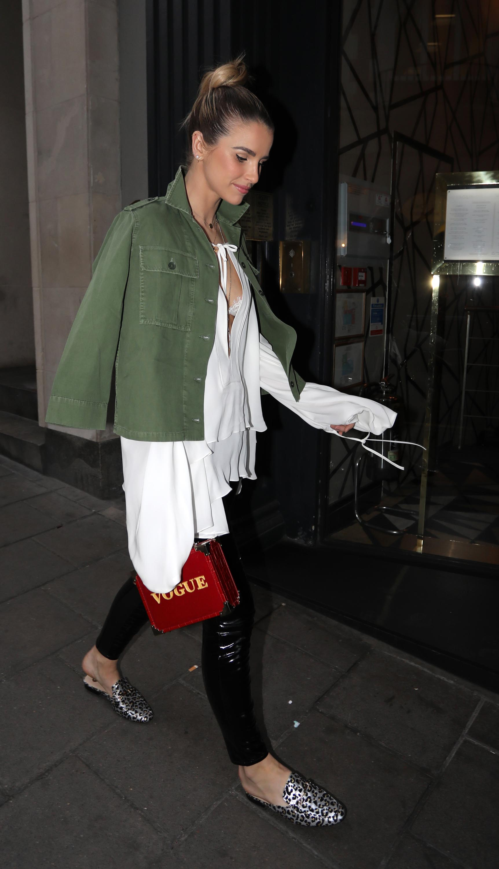 Vogue Williams seen out in London with friends