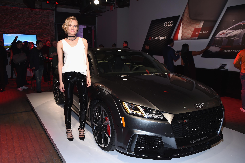 Diane Kruger attends Audi event