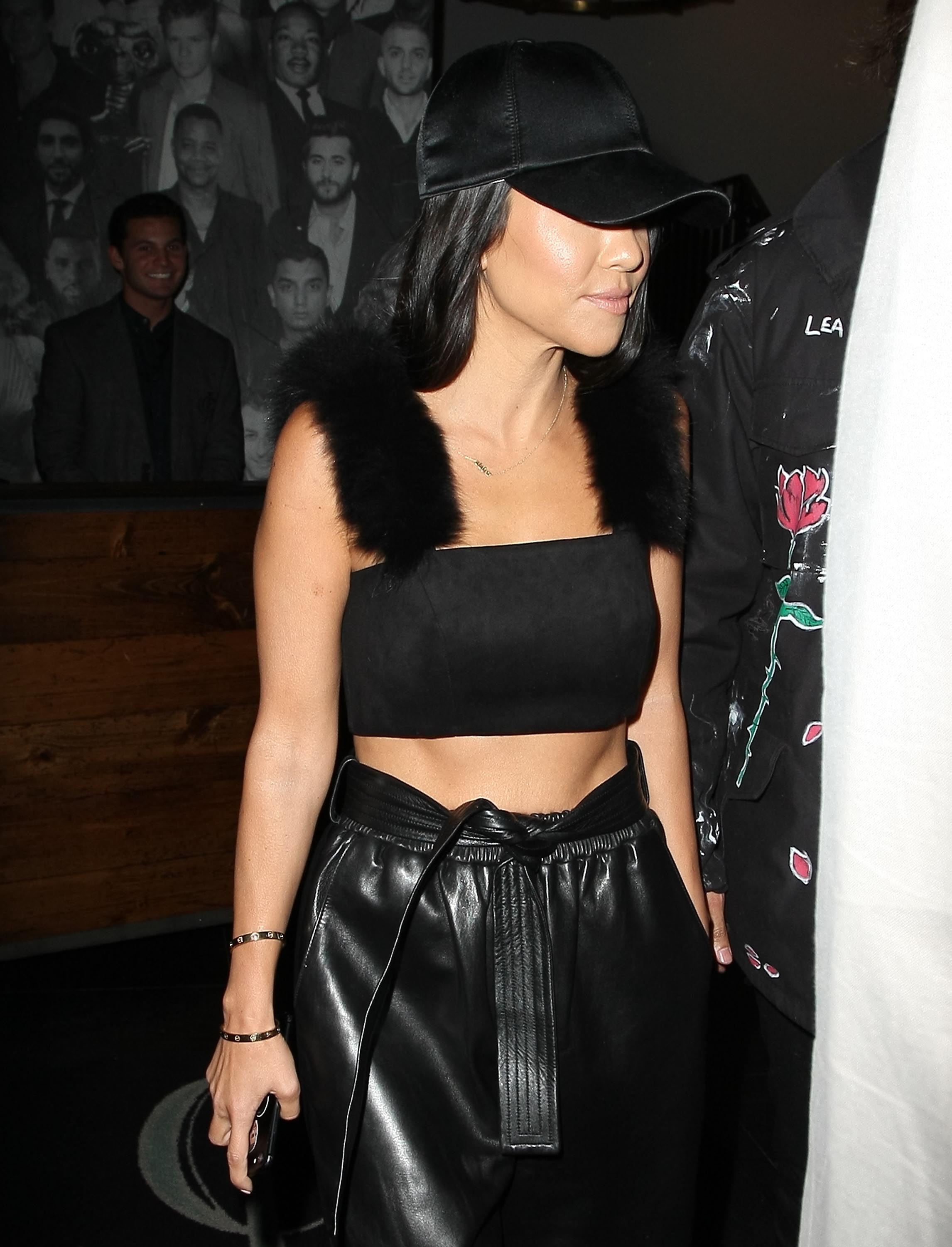 Kourtney Kardashian seen at Catch