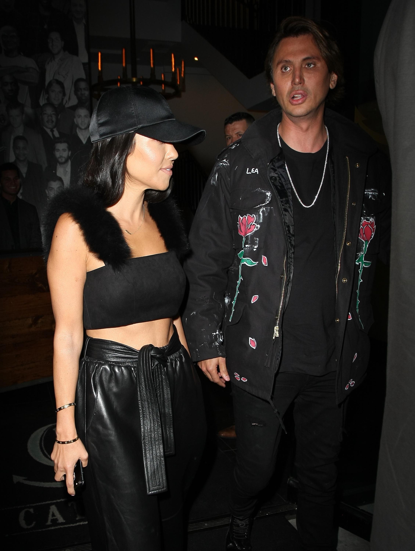 Kourtney Kardashian seen at Catch