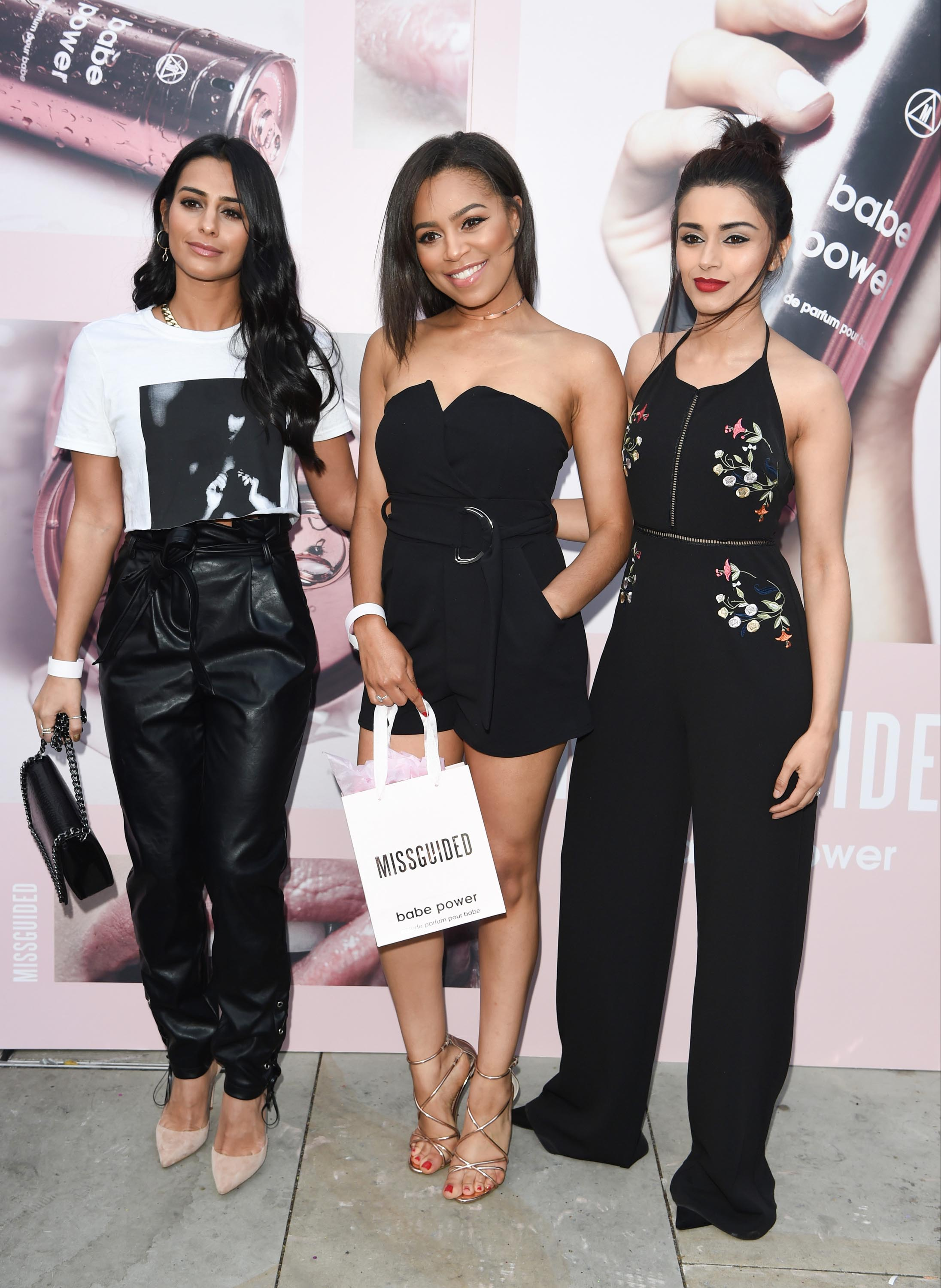Sair Khan attends Missguided Babe Power Perfume Launch