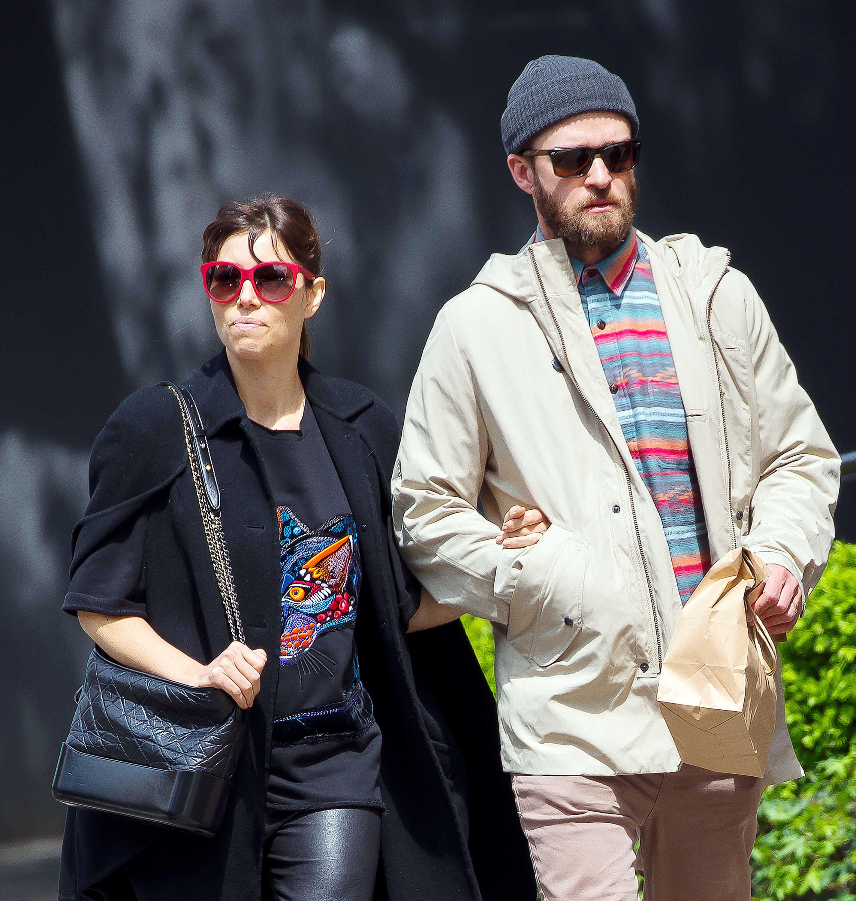 Jessica Biel out & about in New York City
