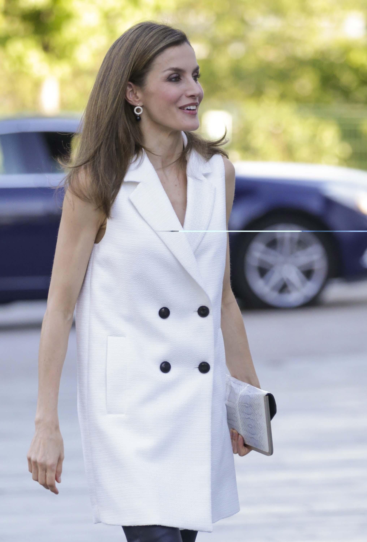 Queen Letizia of Spain attends presentation Famelab