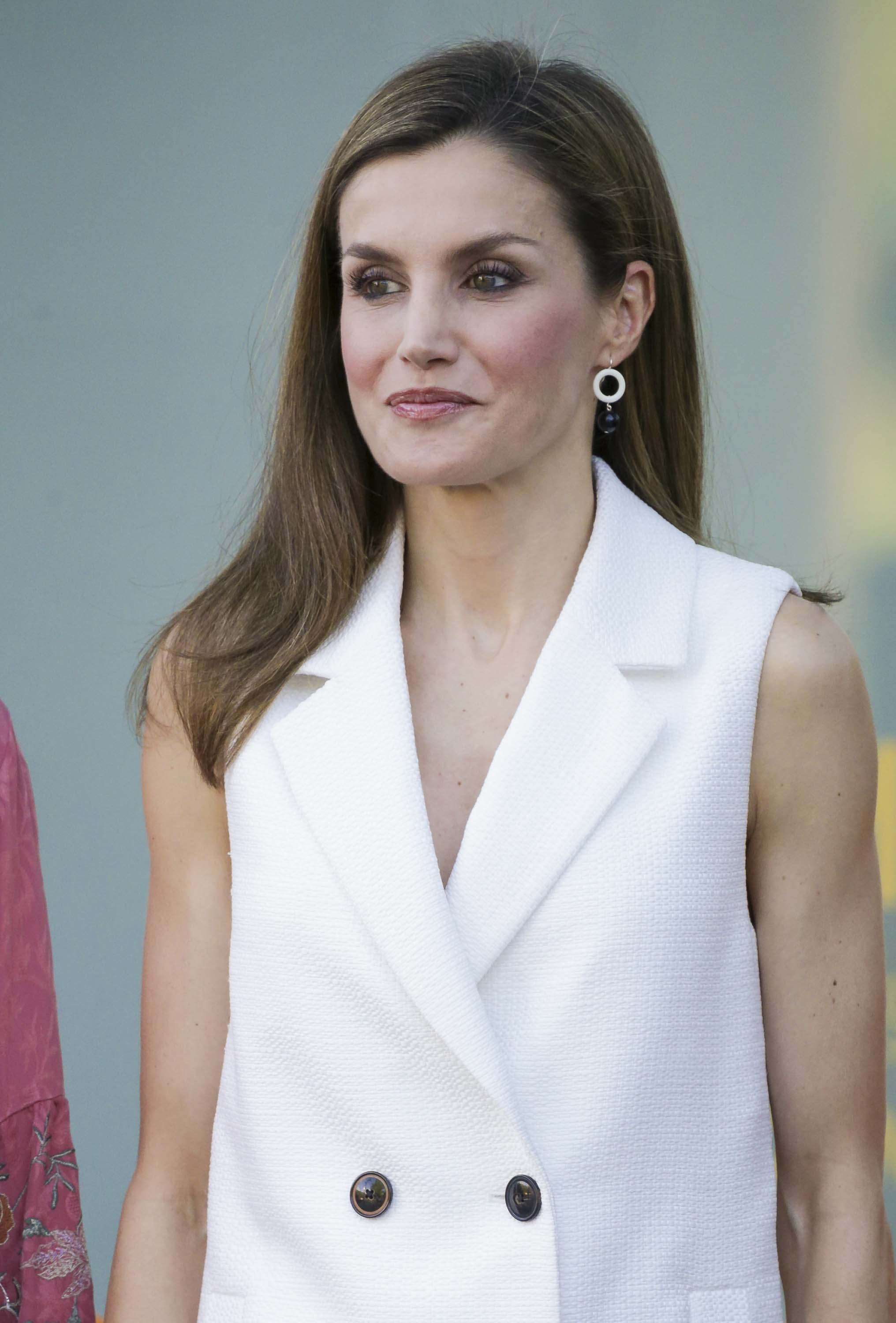 Queen Letizia of Spain attends presentation Famelab