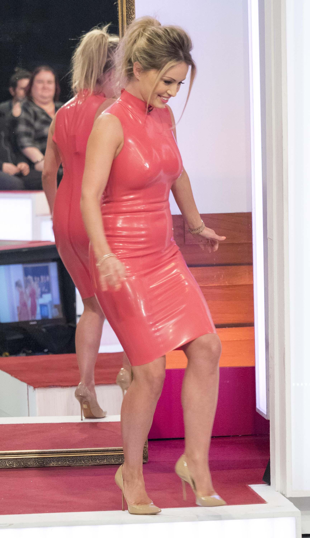 Ola Jordan at Loose Women TV Show