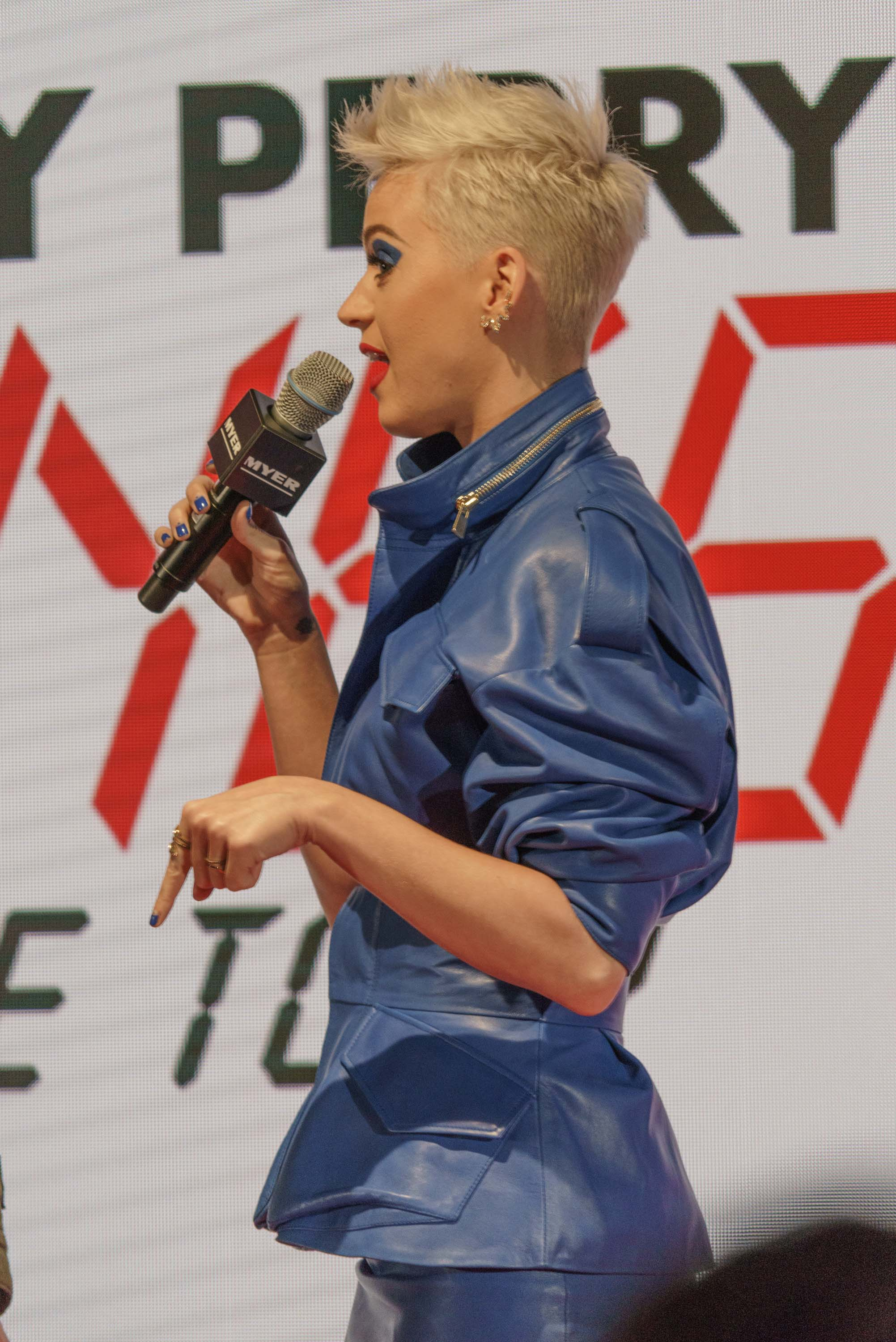 Katy Perry attends Announcing 2018 Australia Tour