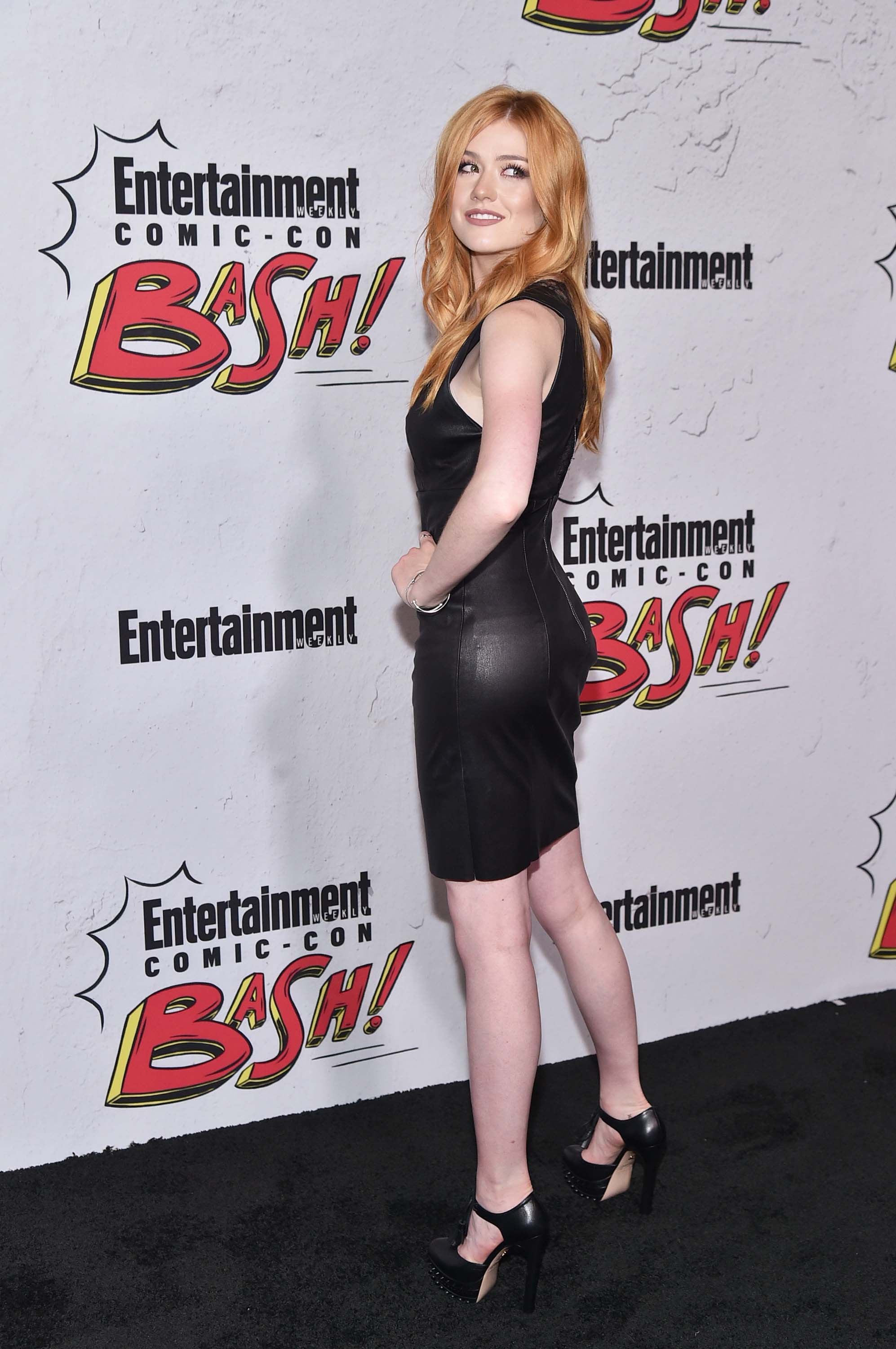 Katherine McNamara attends EW Party