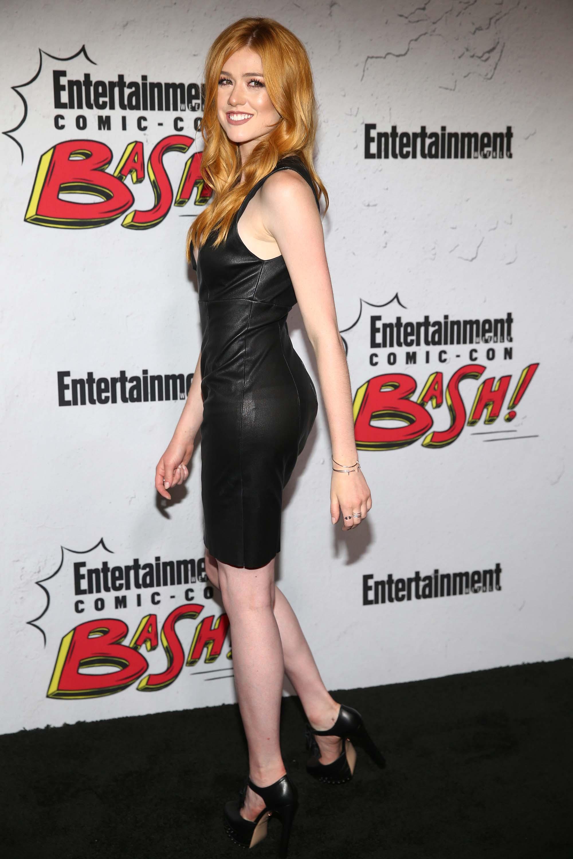 Katherine McNamara attends EW Party