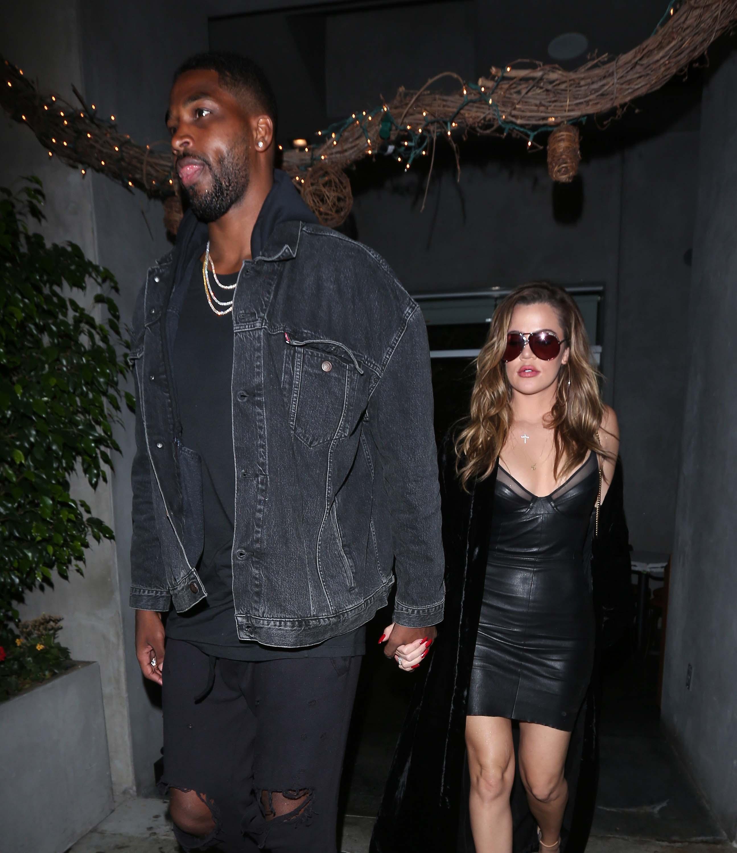 Khloe Kardashian out for dinner
