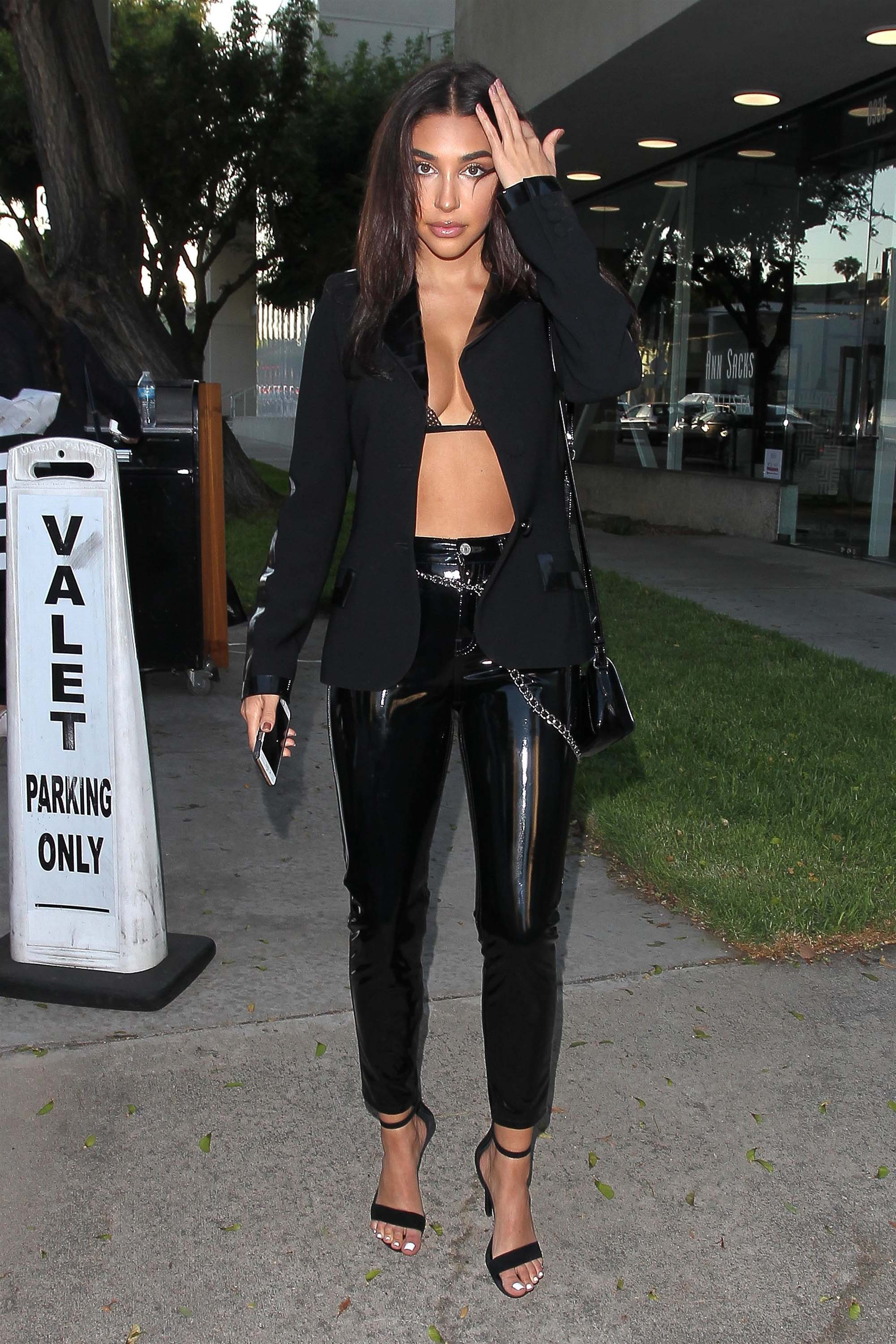 Chantel Jeffries out and about in LA
