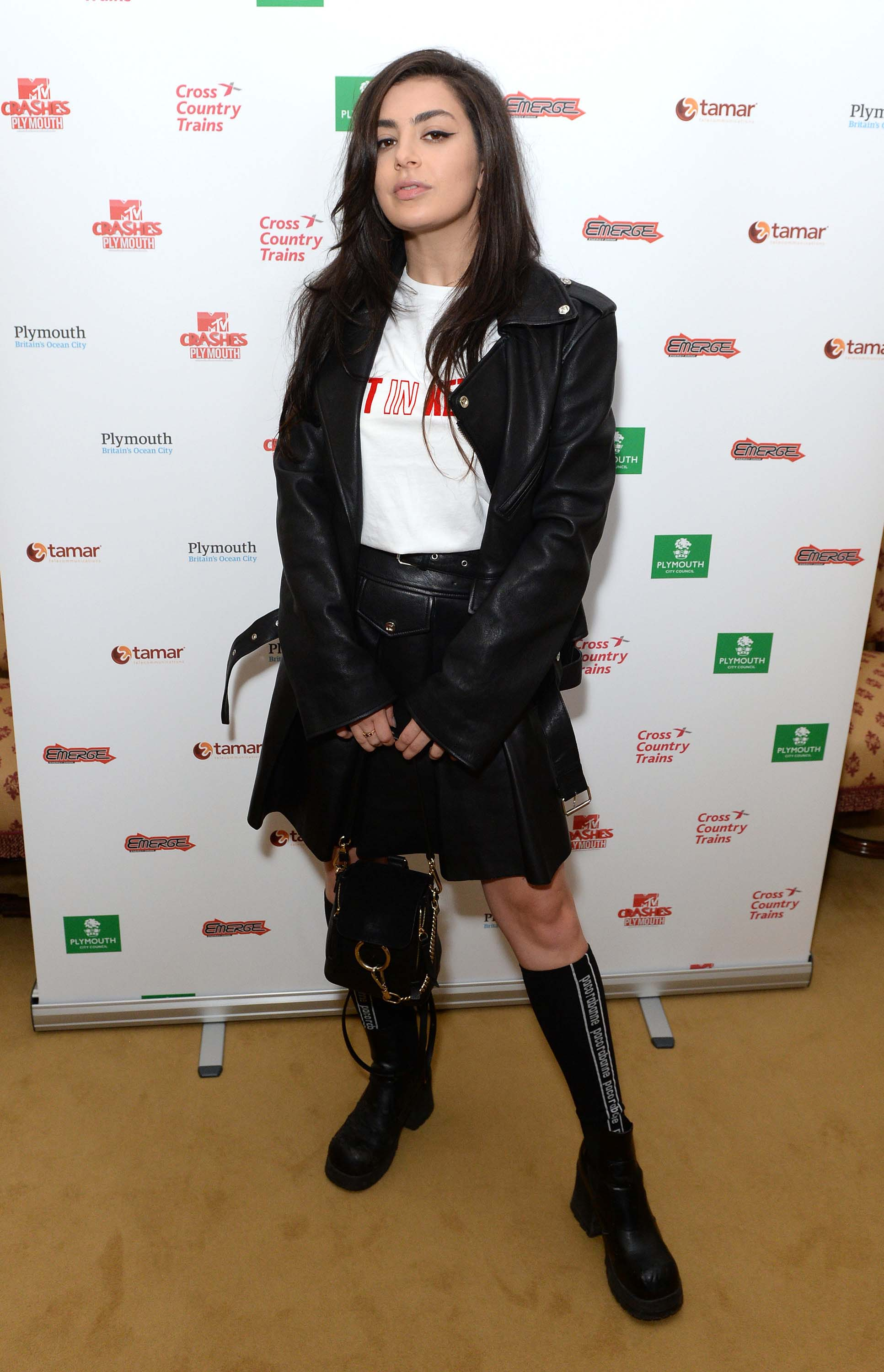 Charli XCX attends MTV Crashes Plymouth