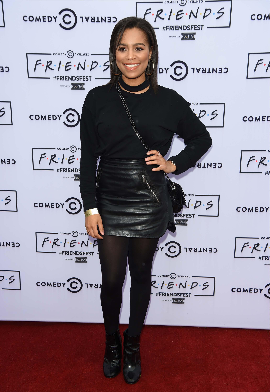 Tisha Merry attends Friends Fest at Heaton Park